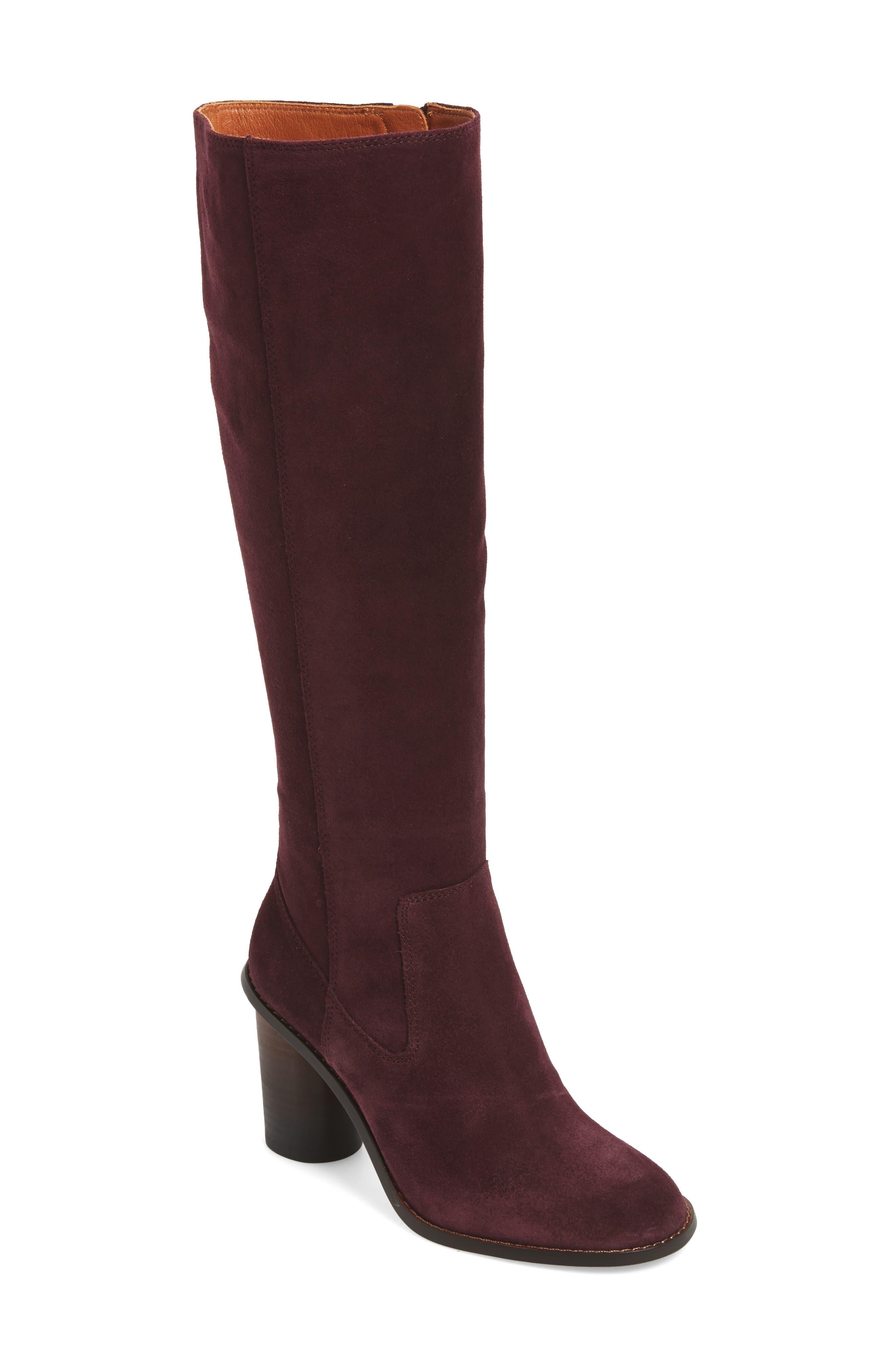 Alternate Image 1 Selected - COACH Ombré Knee High Boot (Women)