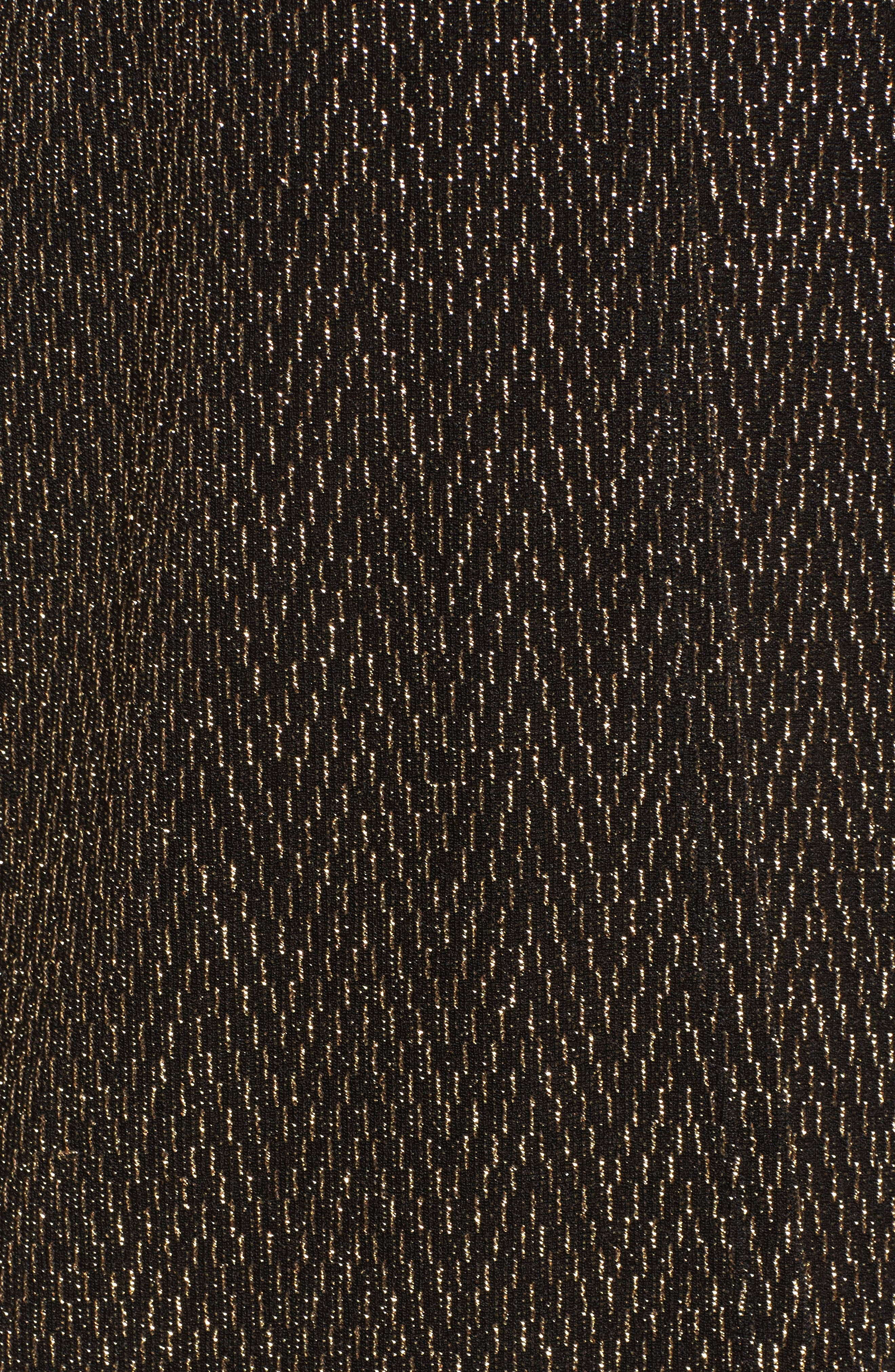Alternate Image 5  - Chaus Metallic Dolman Sleeve Cardigan
