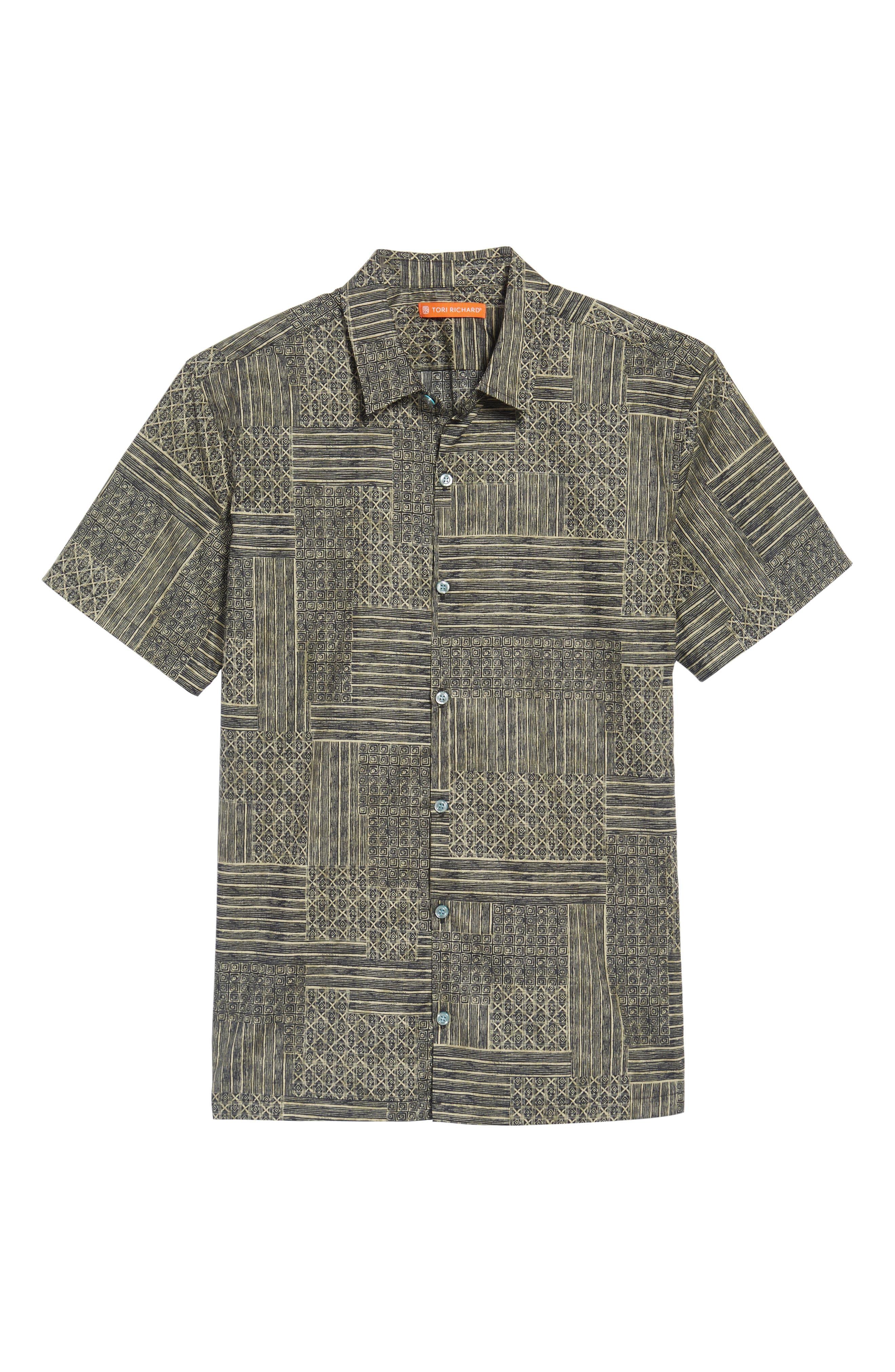 Alternate Image 6  - Tori Richard Spring Field Trim Fit Print Sport Shirt