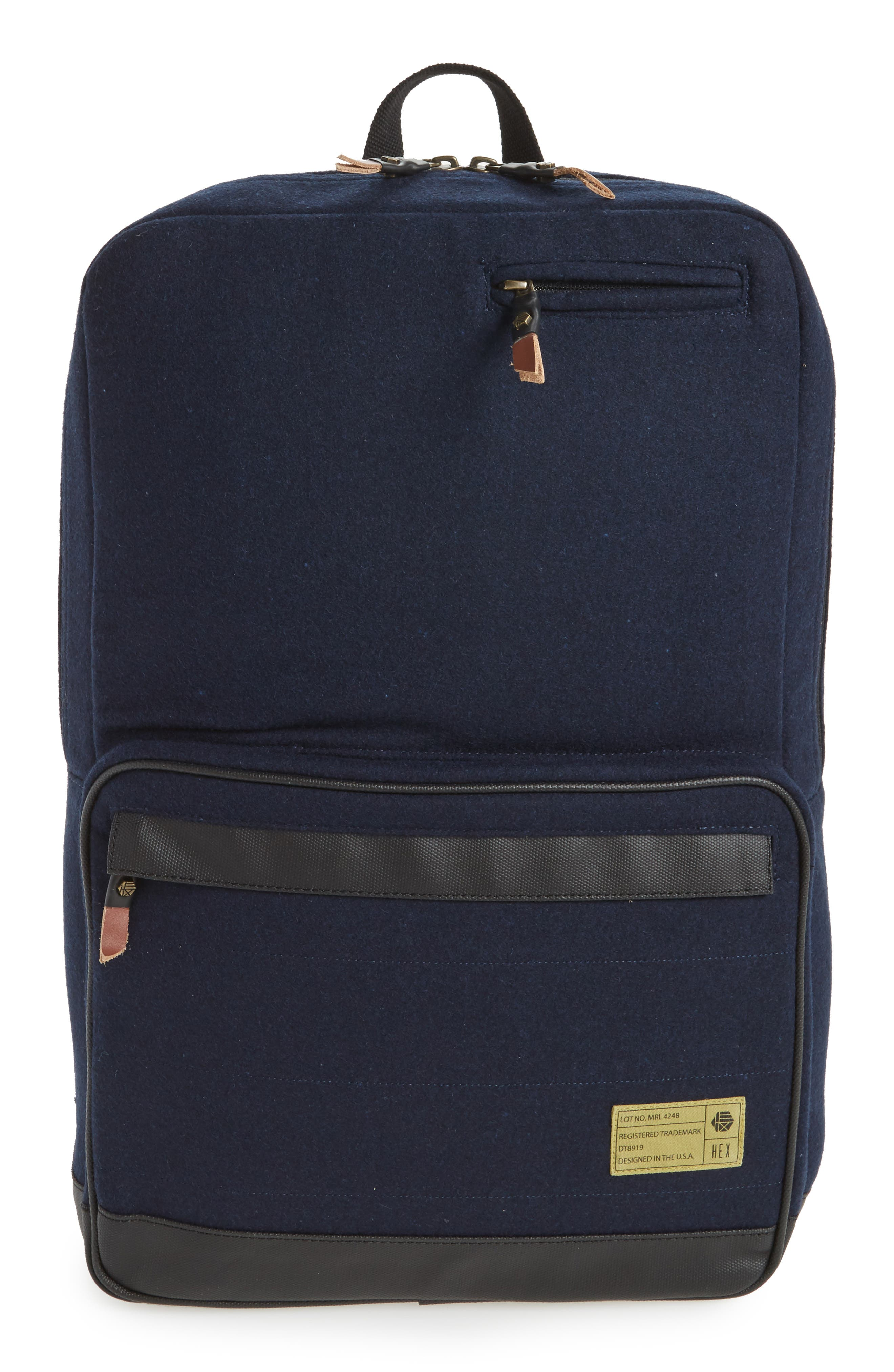 HEX Radar Origin Water Resistant Commuter/Travel Laptop Backpack
