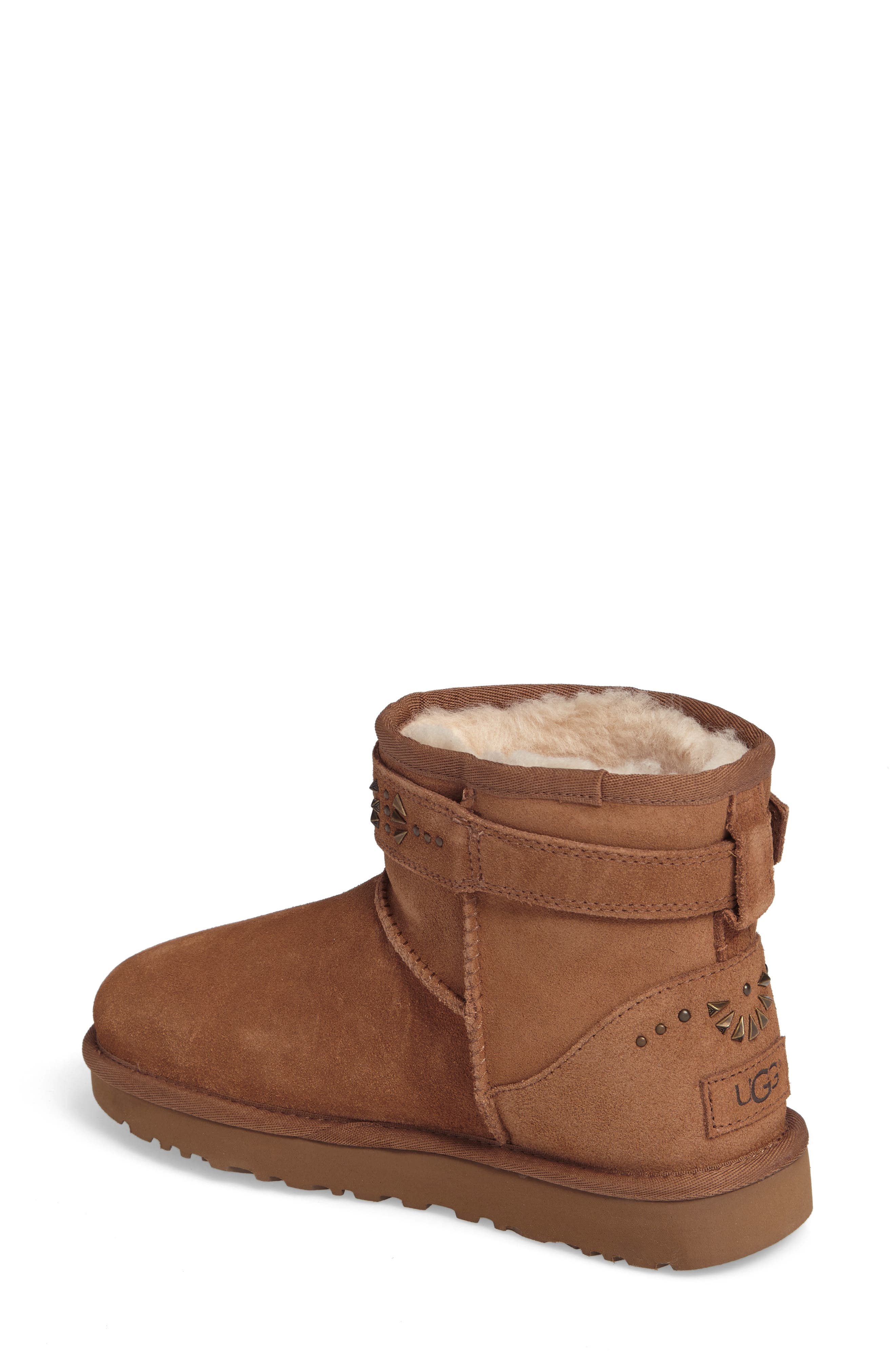 Jadine Boot,                             Alternate thumbnail 2, color,                             Chestnut Suede