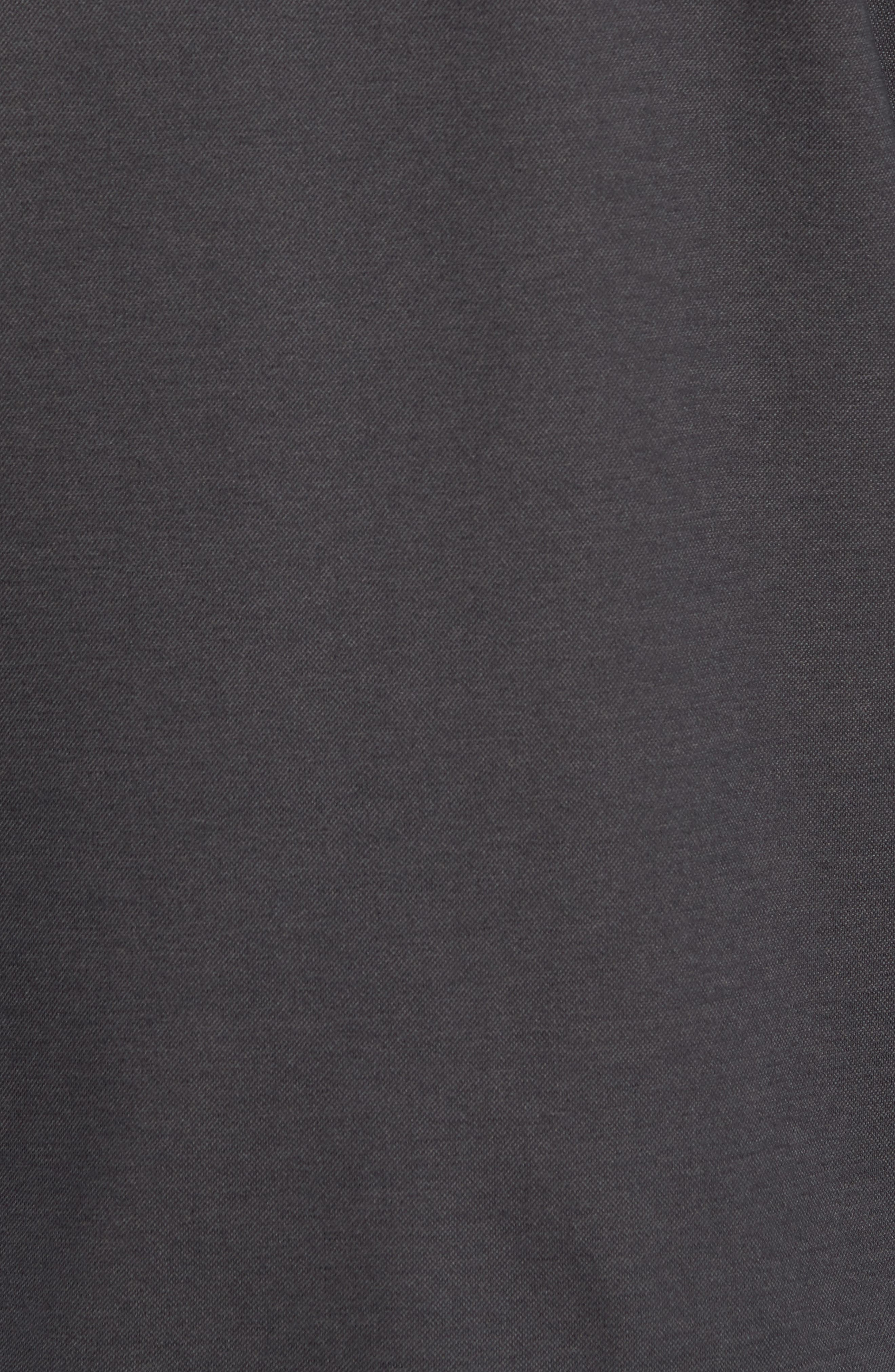 Glacier Knit Sport Shirt,                             Alternate thumbnail 5, color,                             Black
