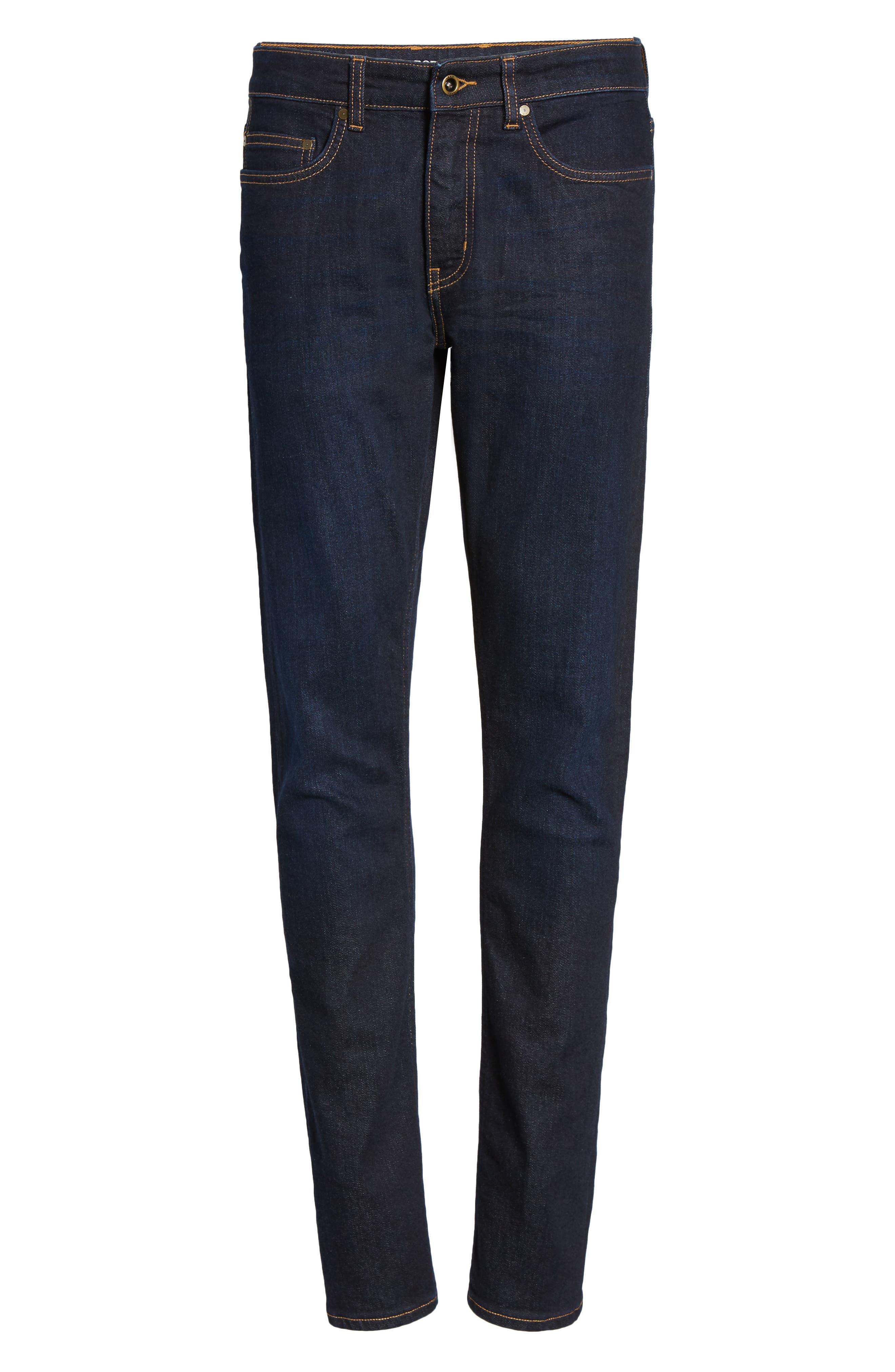 Fanshawe Straight Leg Jeans,                             Alternate thumbnail 6, color,                             Denim