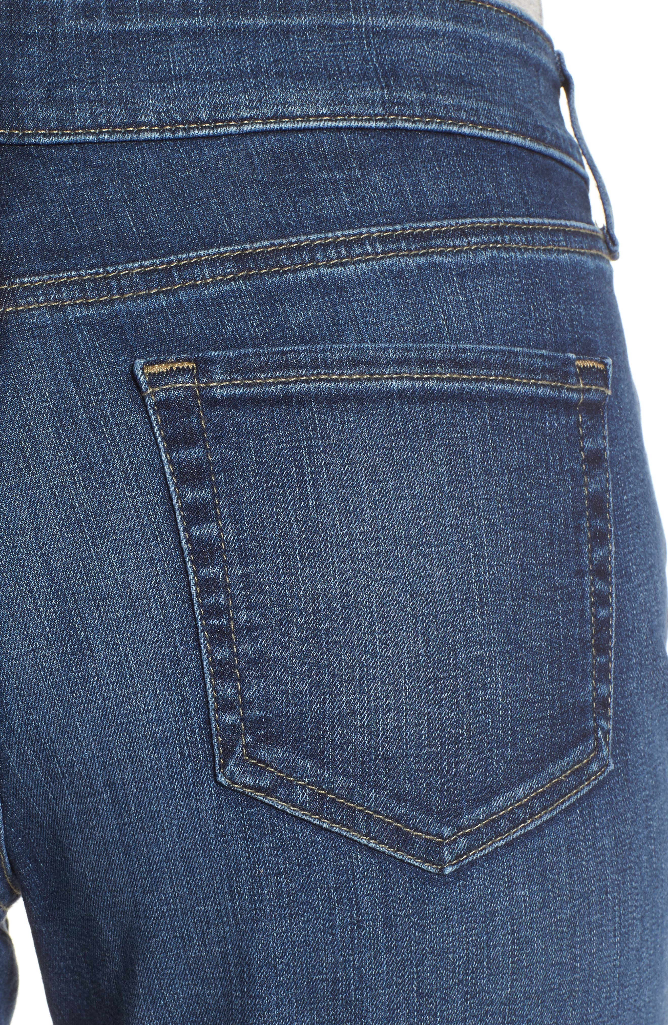 Stretch Boyfriend Jeans,                             Alternate thumbnail 4, color,                             Pioneer
