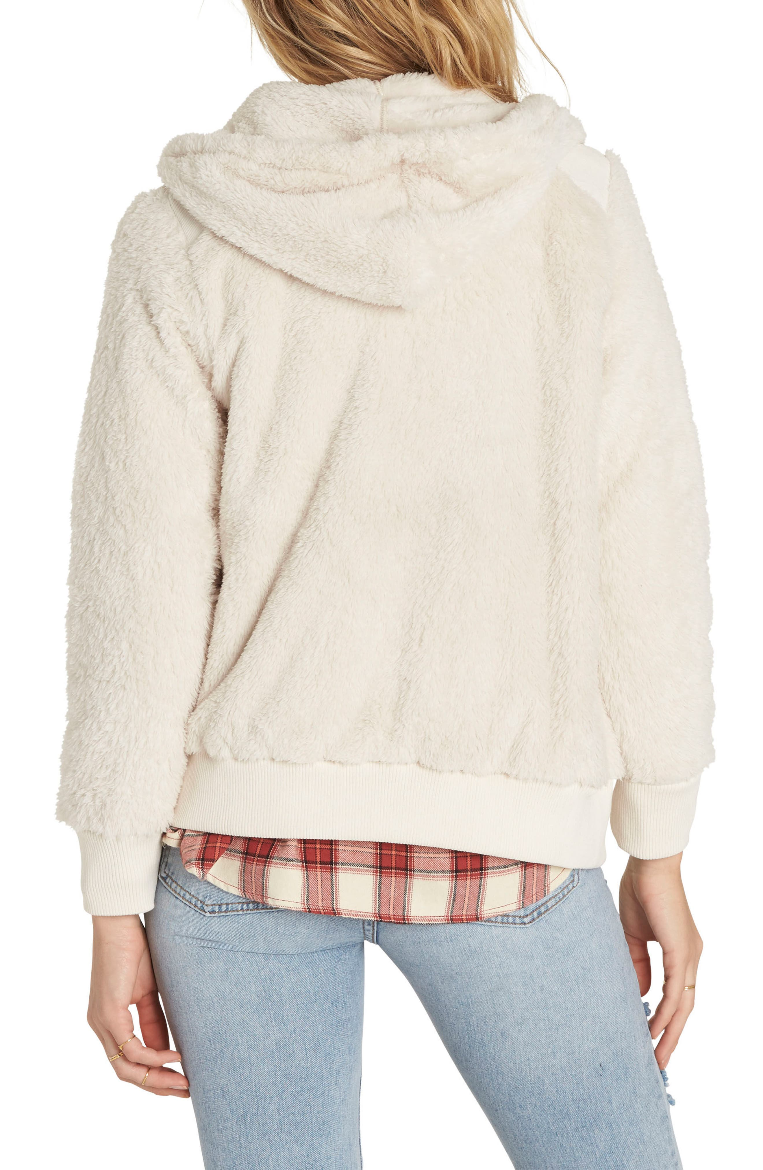 Cozy Hoodie,                             Alternate thumbnail 2, color,                             Coconut Shell