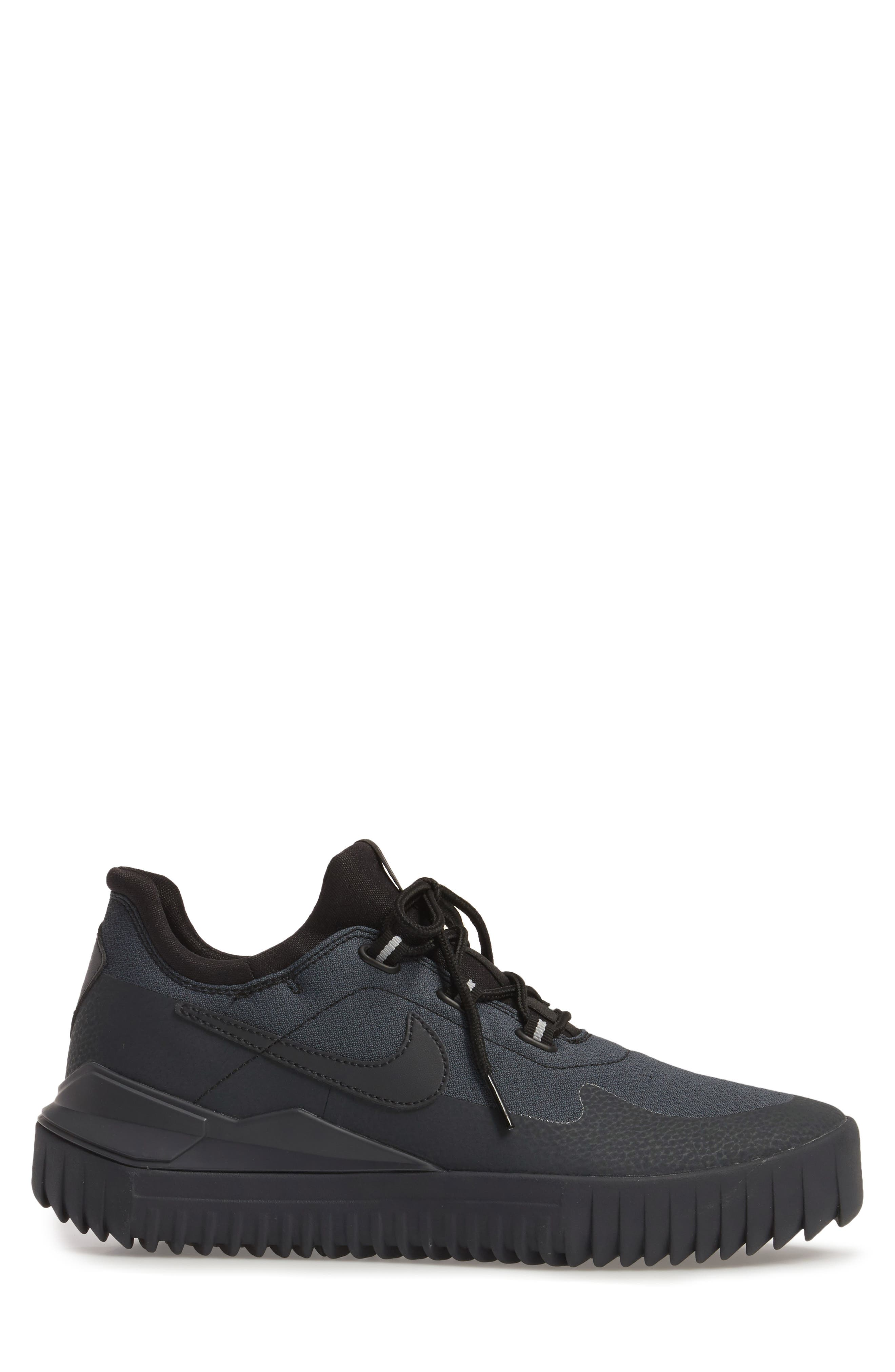 Air Wild Sneaker,                             Alternate thumbnail 3, color,                             Black/ Anthracite/ Grey