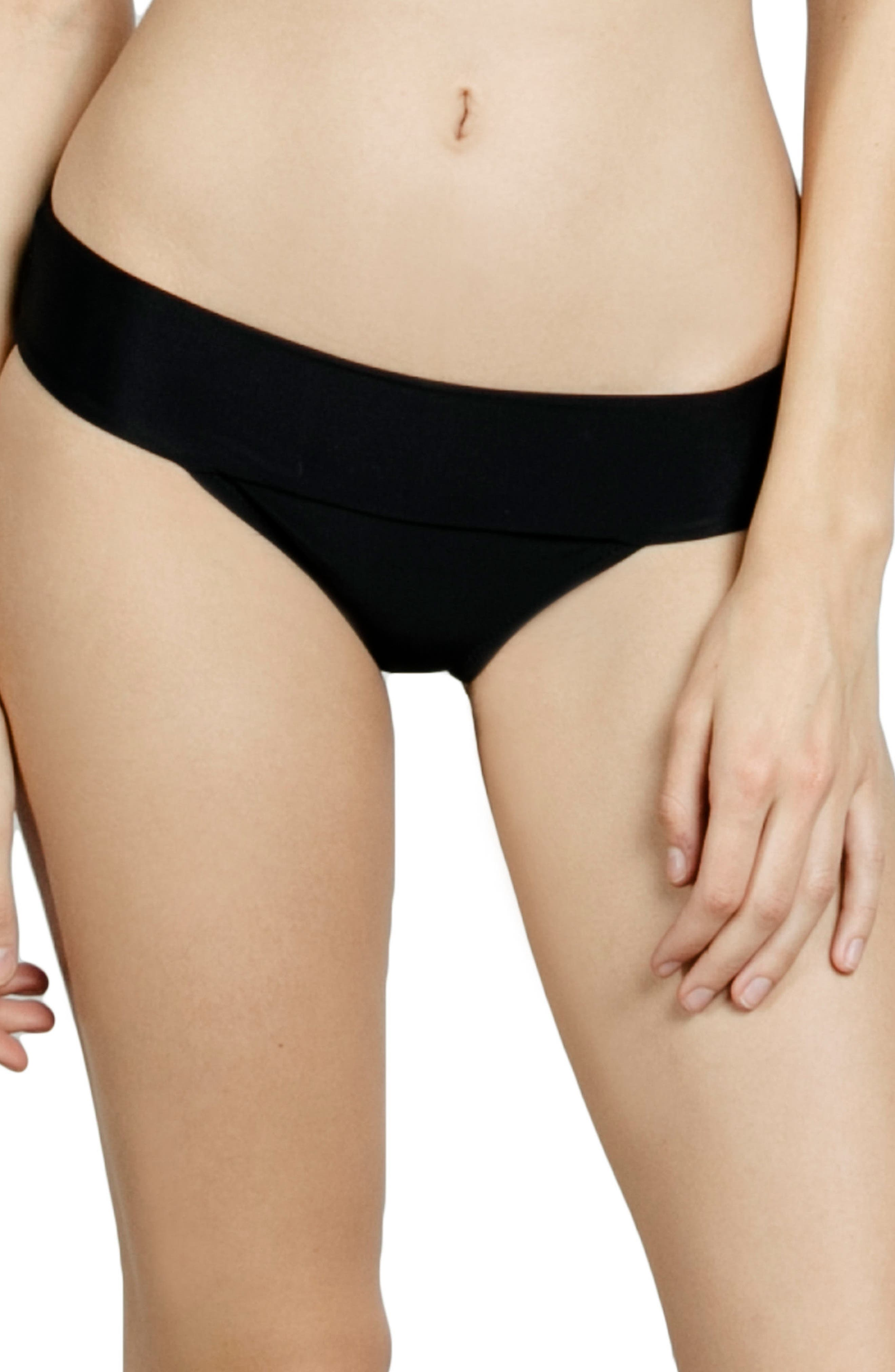 Volcom Simply Solid Modest Bikini Bottoms