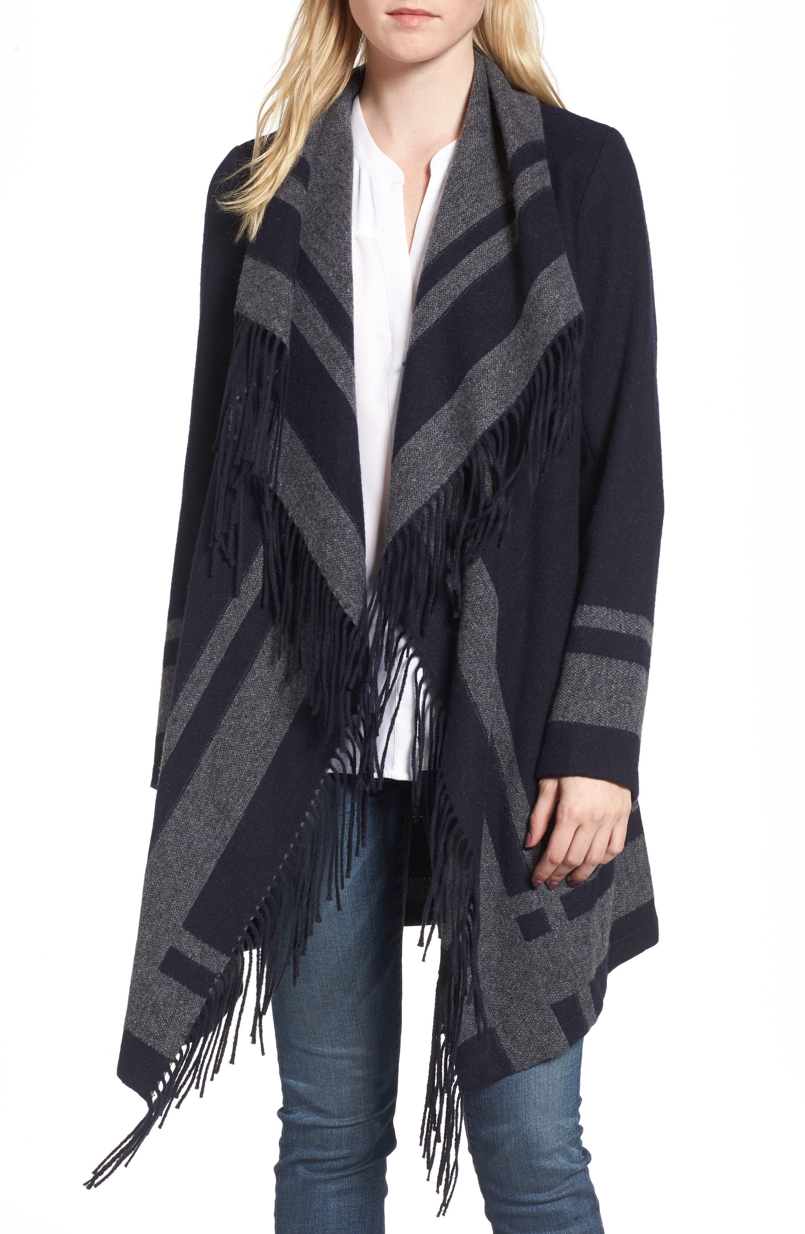 Alternate Image 4  - Vince Camuto Wrap Coat