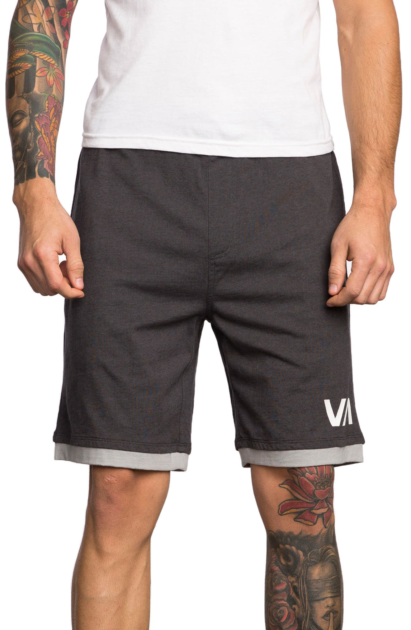Layers Sport Shorts,                         Main,                         color, Tawny Port
