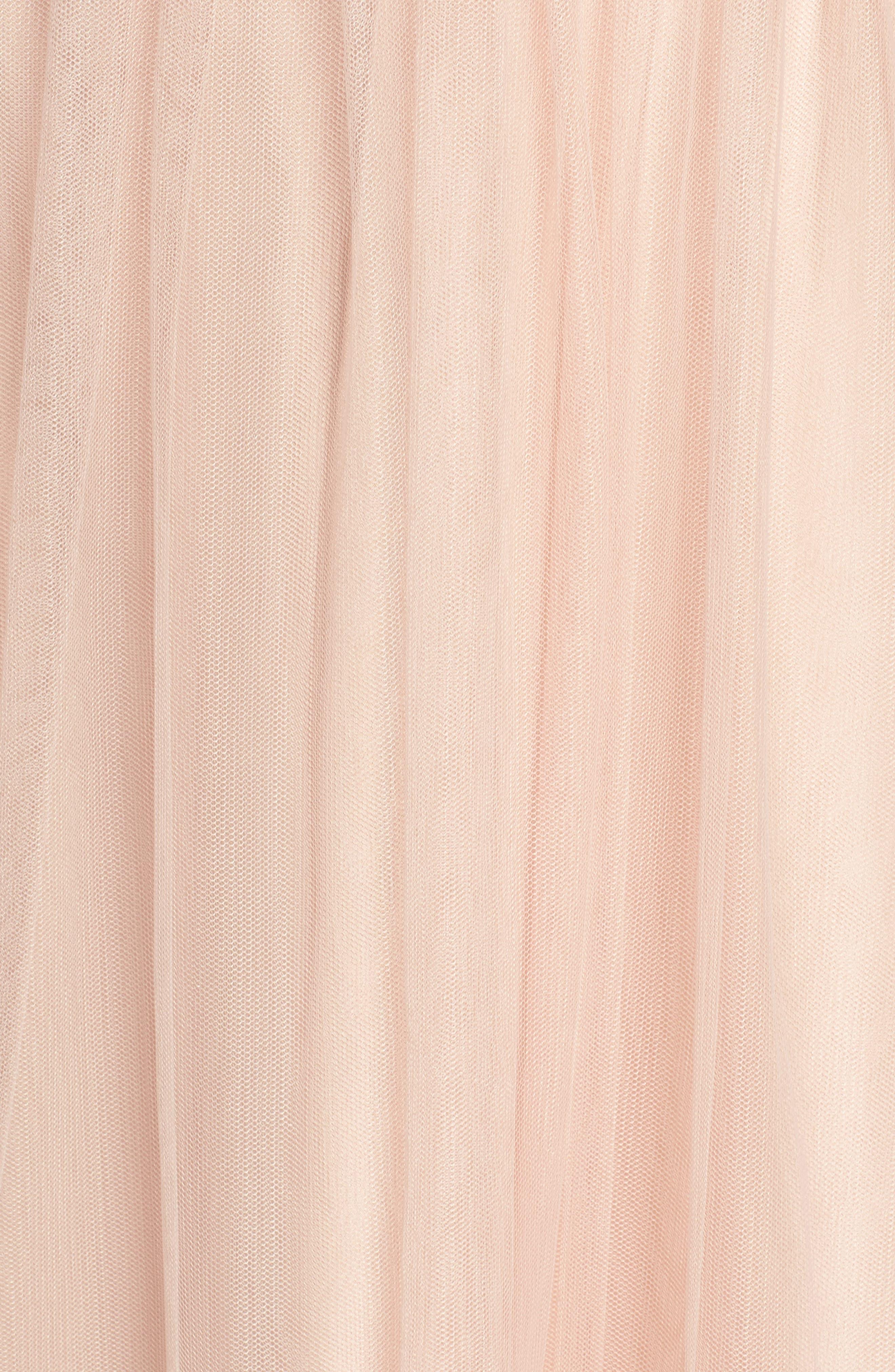 Alternate Image 5  - Monique Lhuillier Bridesmaids Violetta Tulle Gown