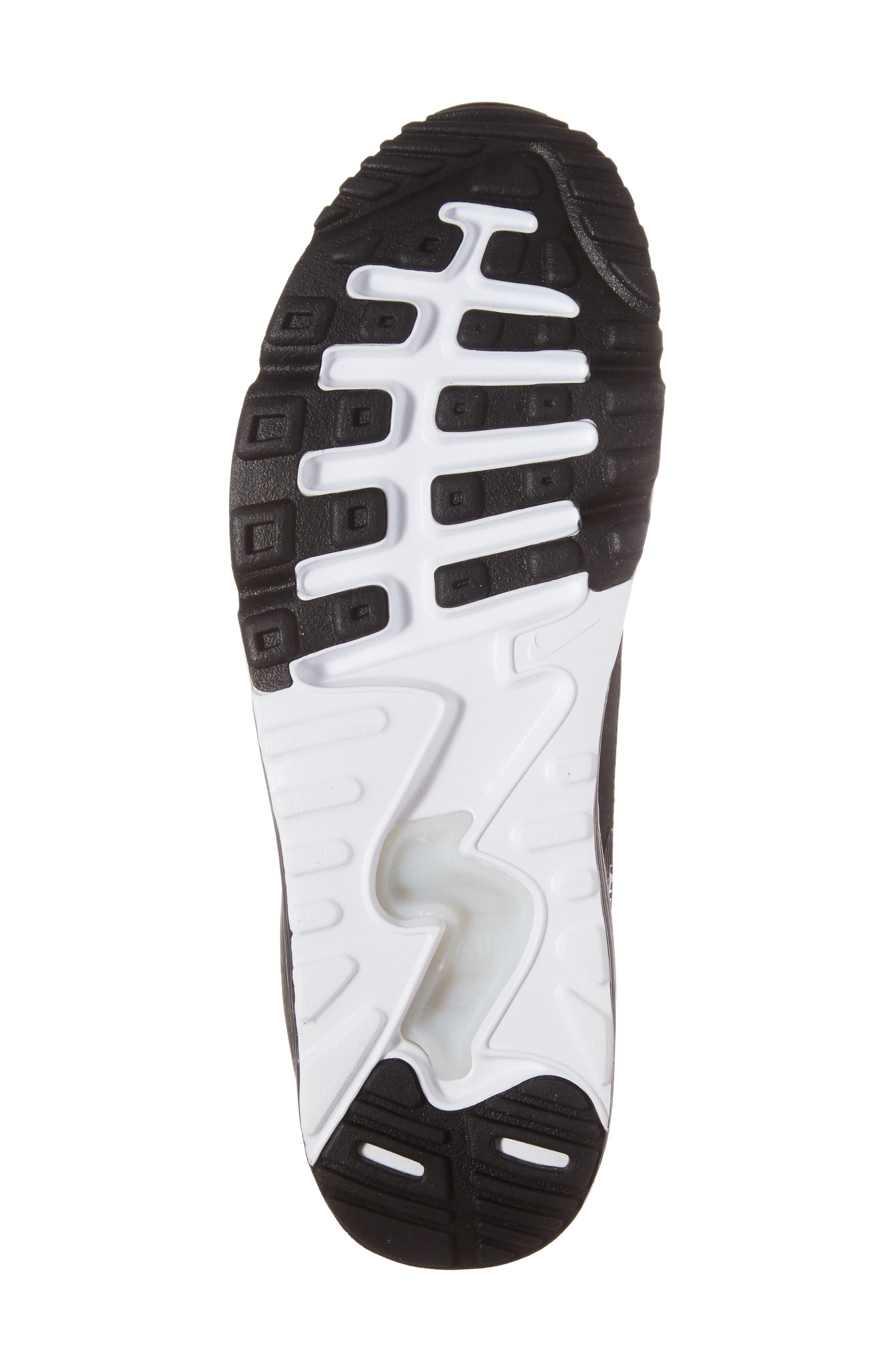 Air Max 90 Ultra 2.0 SE Sneaker,                             Alternate thumbnail 6, color,                             Anthracite/ Black