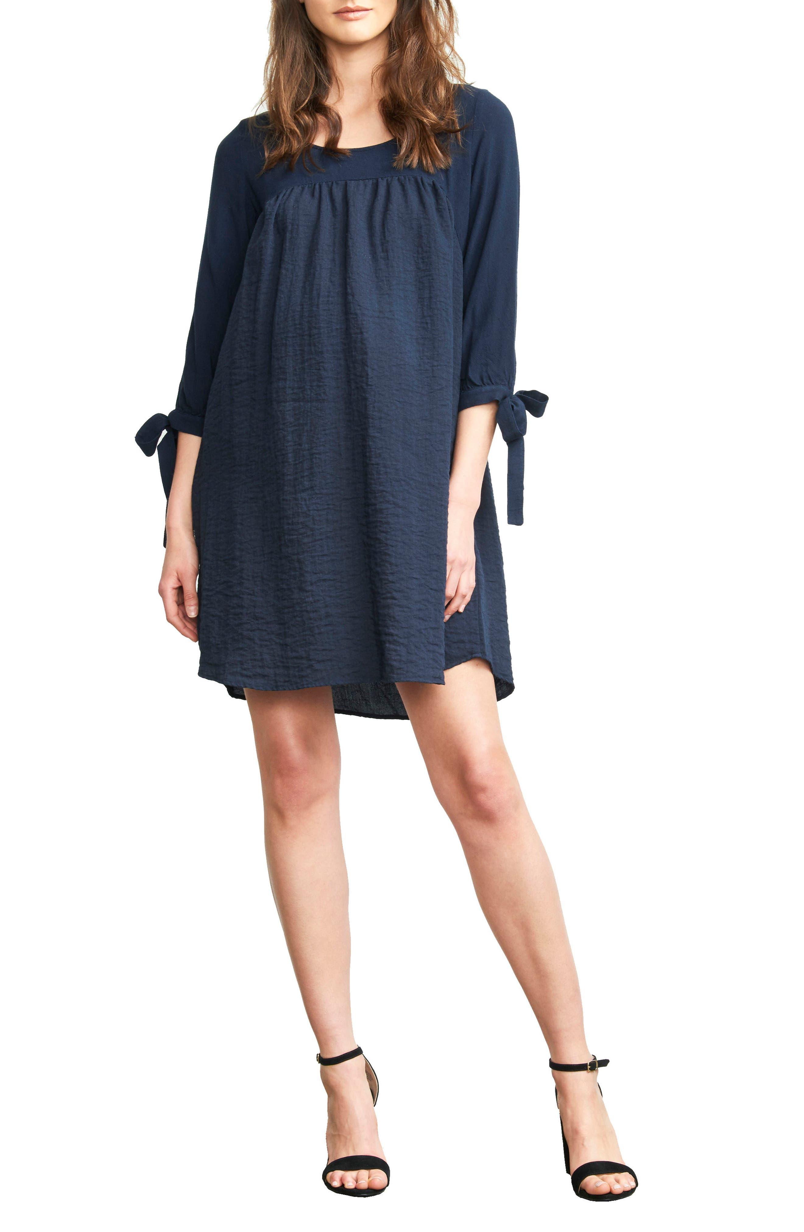 Main Image - Maternal America Babydoll Maternity Dress