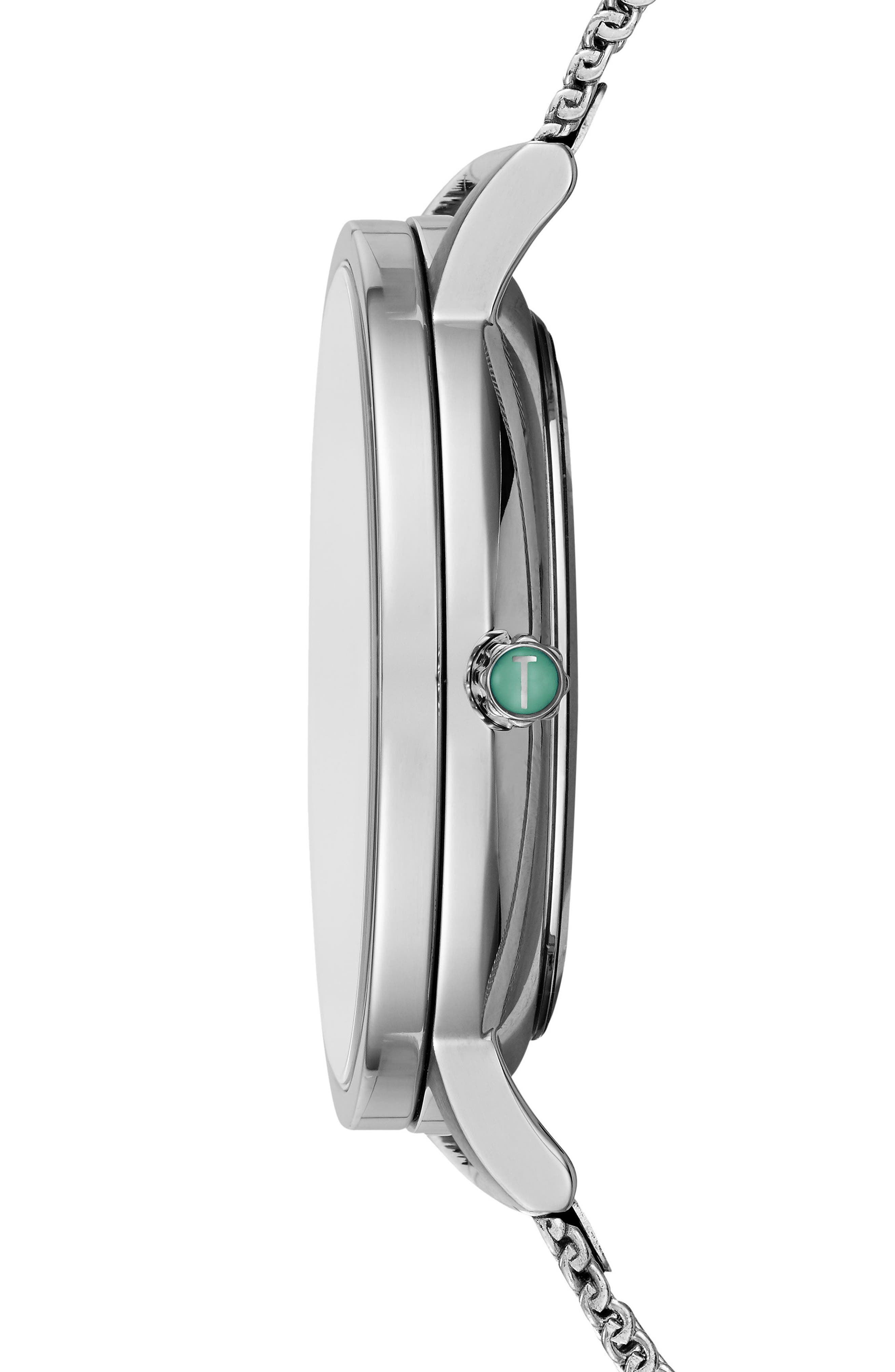 Alternate Image 3  - Ted Baker London Grant Mesh Bracelet Watch, 40mm