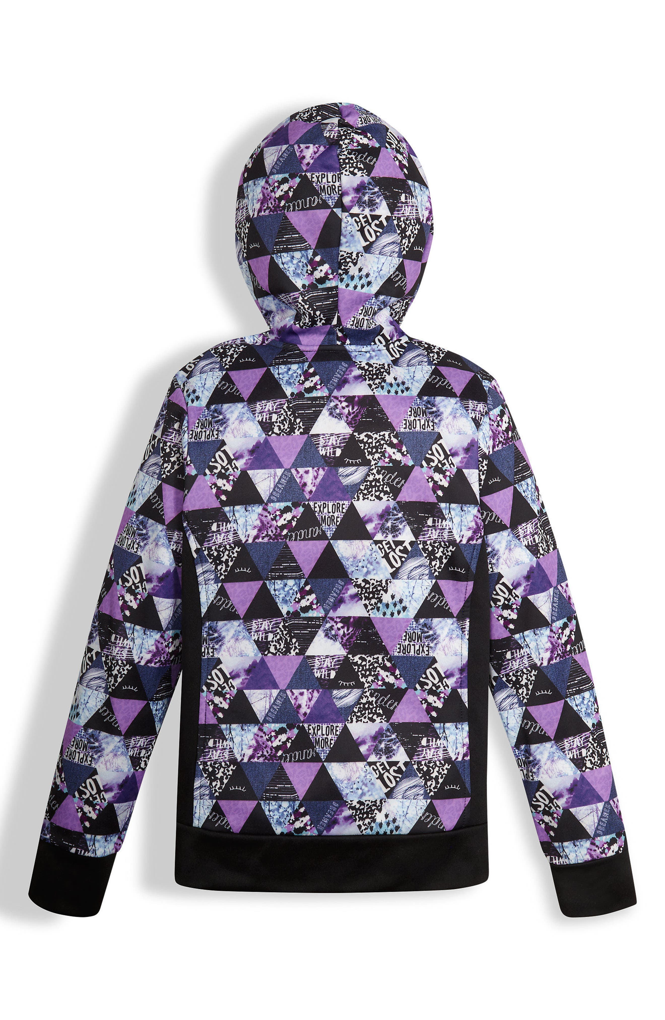 Alternate Image 2  - The North Face Surgent Full Zip Hoodie (Big Girls)