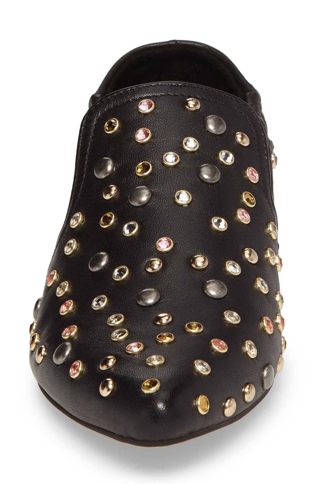 Alternate Image 4  - Dolce Vita Hamond Stud Embellished Loafer Flat (Women)