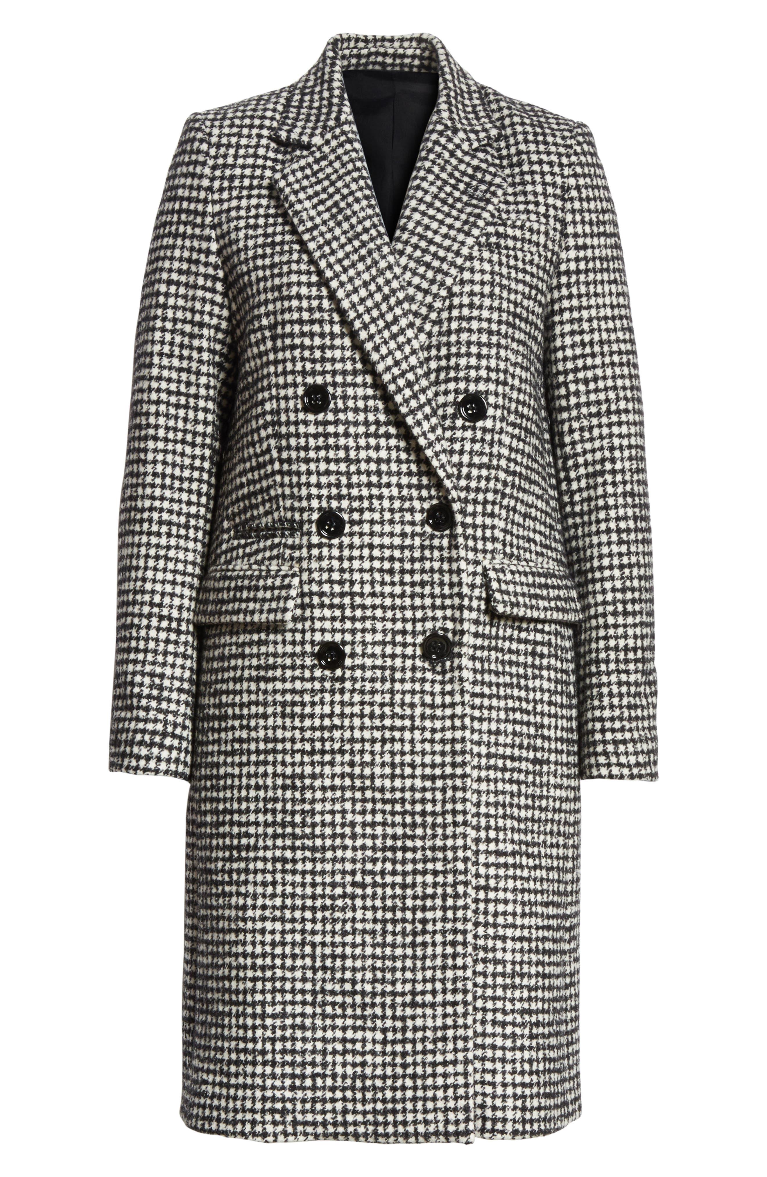 Alternate Image 6  - The Kooples Double-Breasted Wool Blend Coat