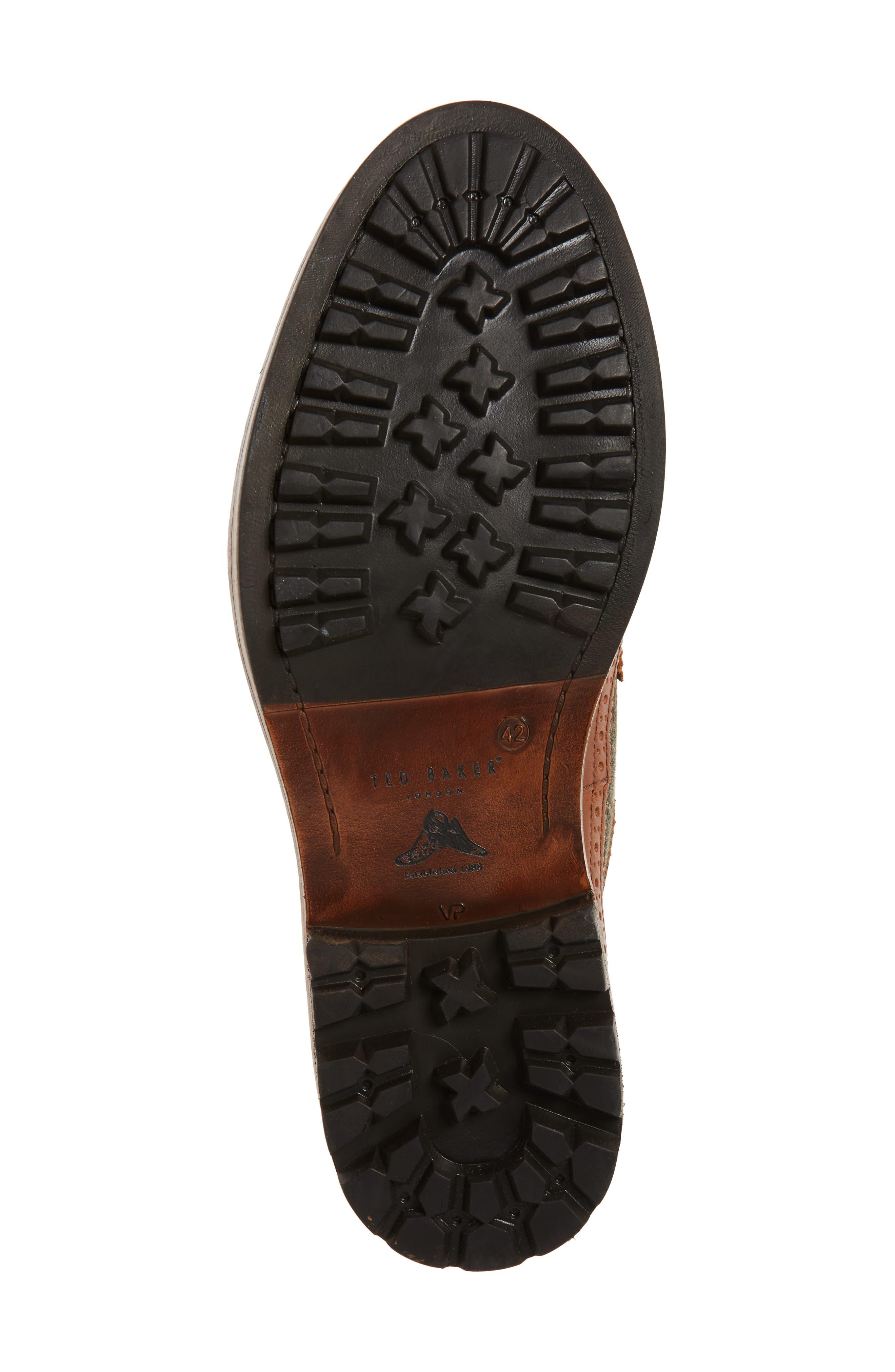 Casbo Spectator Shoe,                             Alternate thumbnail 6, color,                             Tan Multi Leather