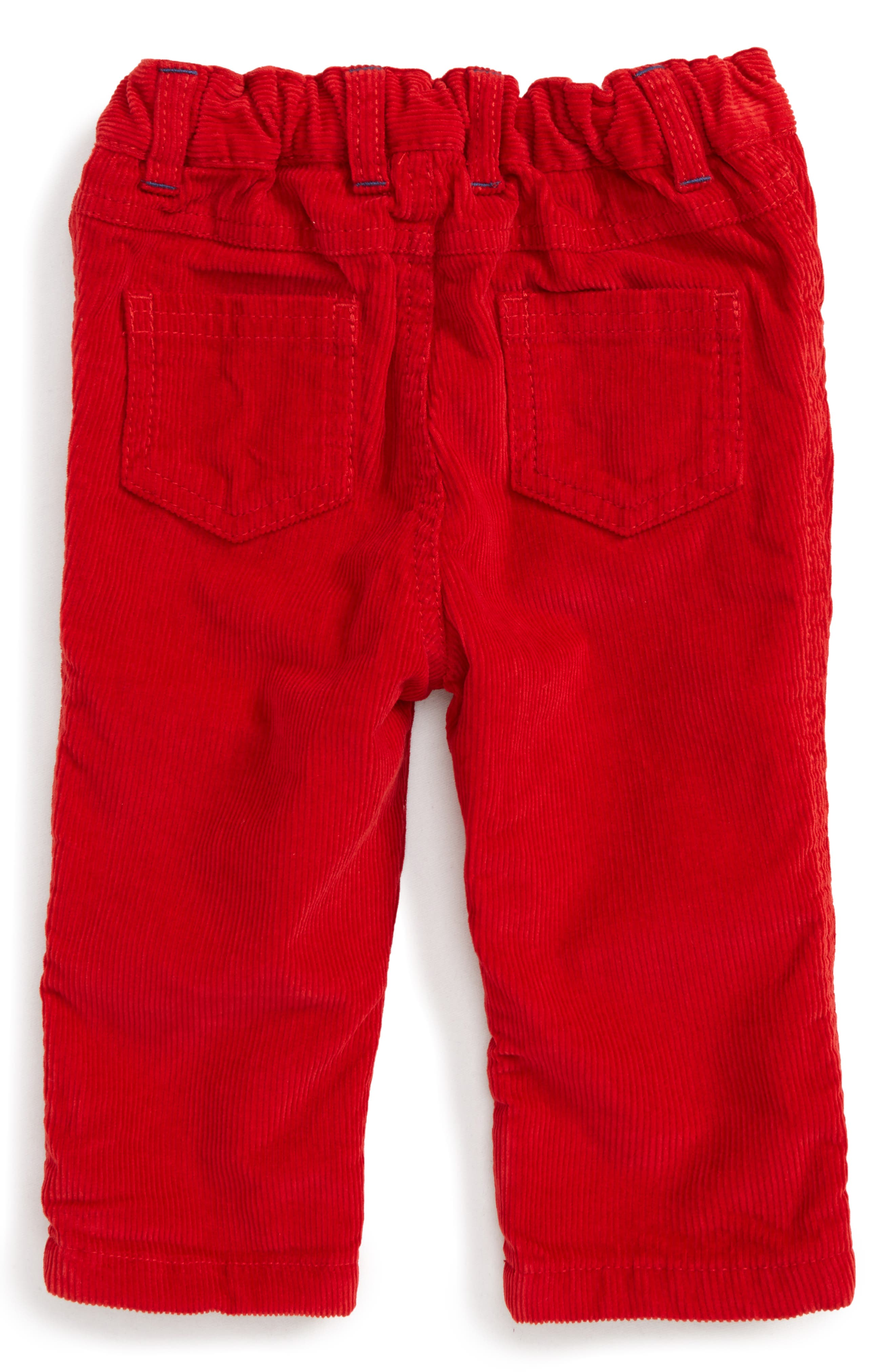 Lined Corduroy Pants,                             Alternate thumbnail 2, color,                             Red Engine Red