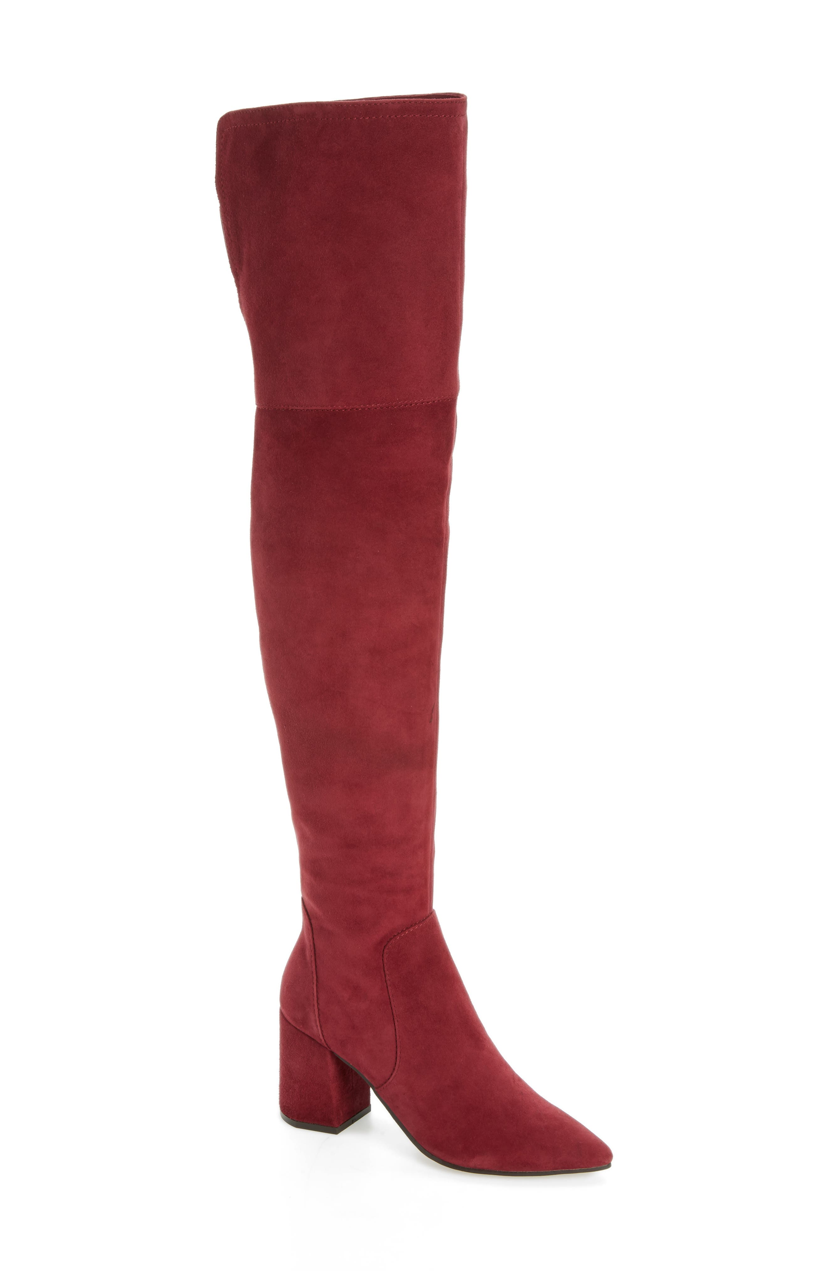 Alternate Image 1 Selected - Linea Paolo Bella Over the Knee Boot (Women)