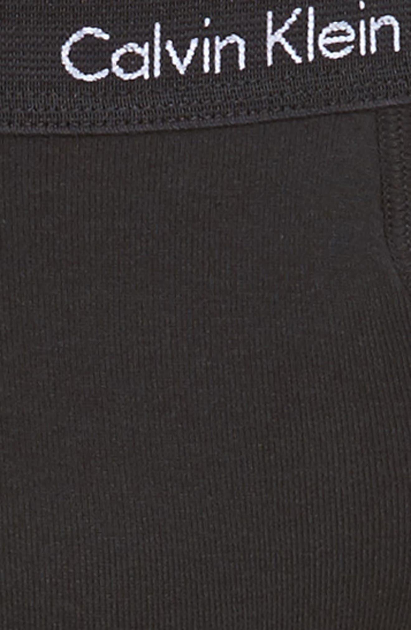 Alternate Image 5  - Calvin Klein 4-Pack Cotton Briefs
