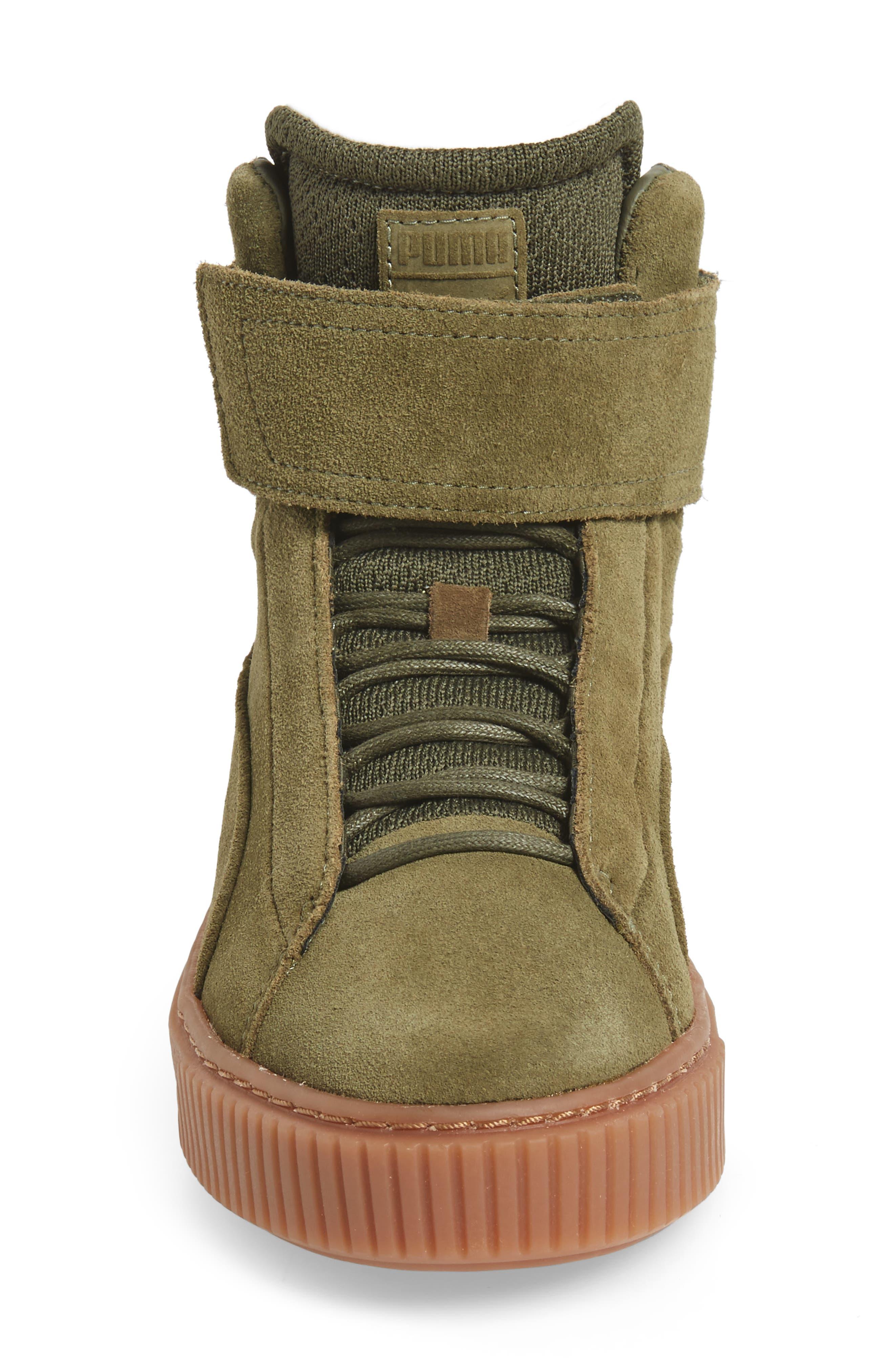 Alternate Image 4  - PUMA Platform Mid OW Sneaker (Women)