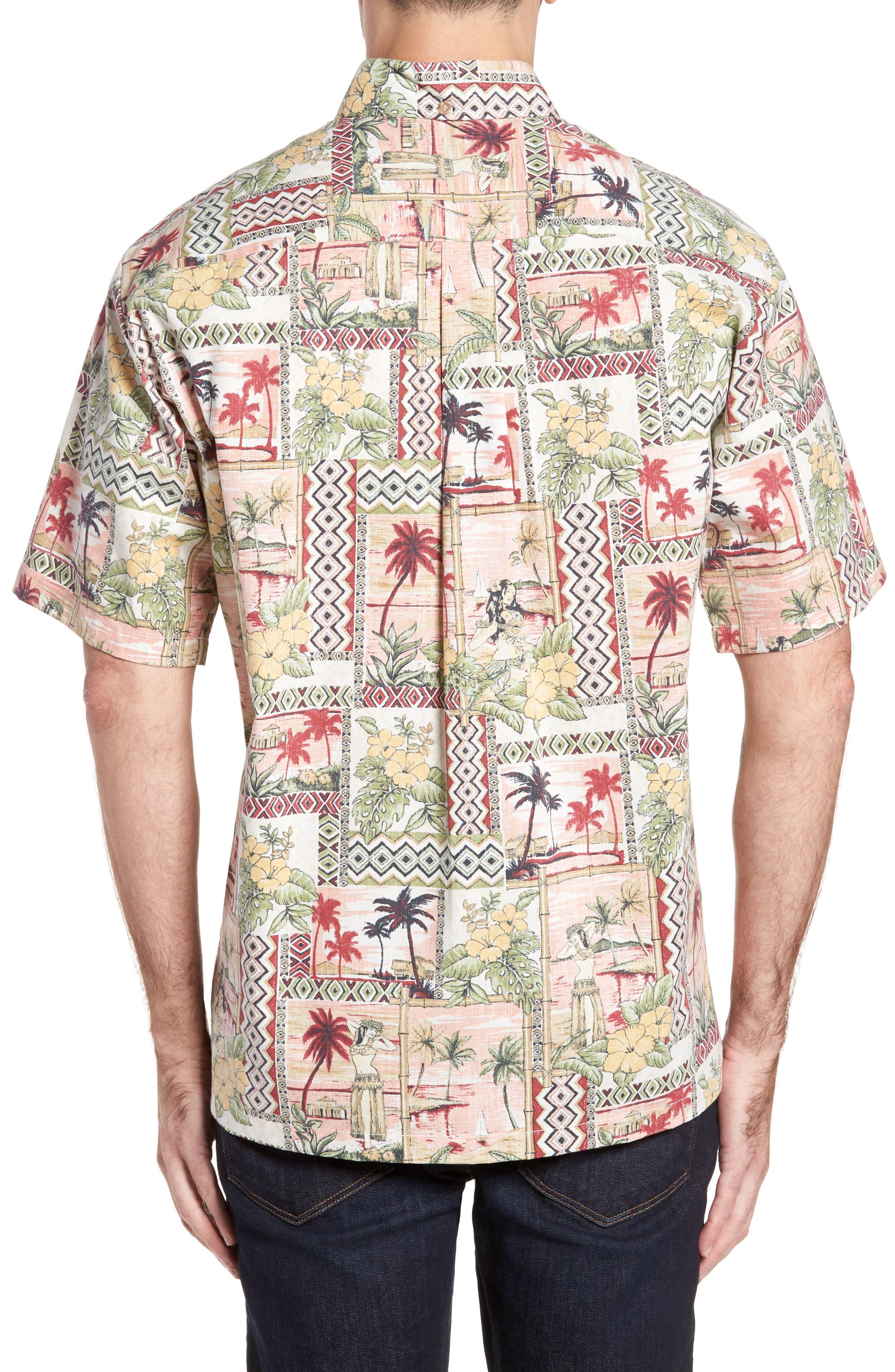 Alternate Image 2  - Kahala Aloha Classic Fit Pullover Camp Shirt
