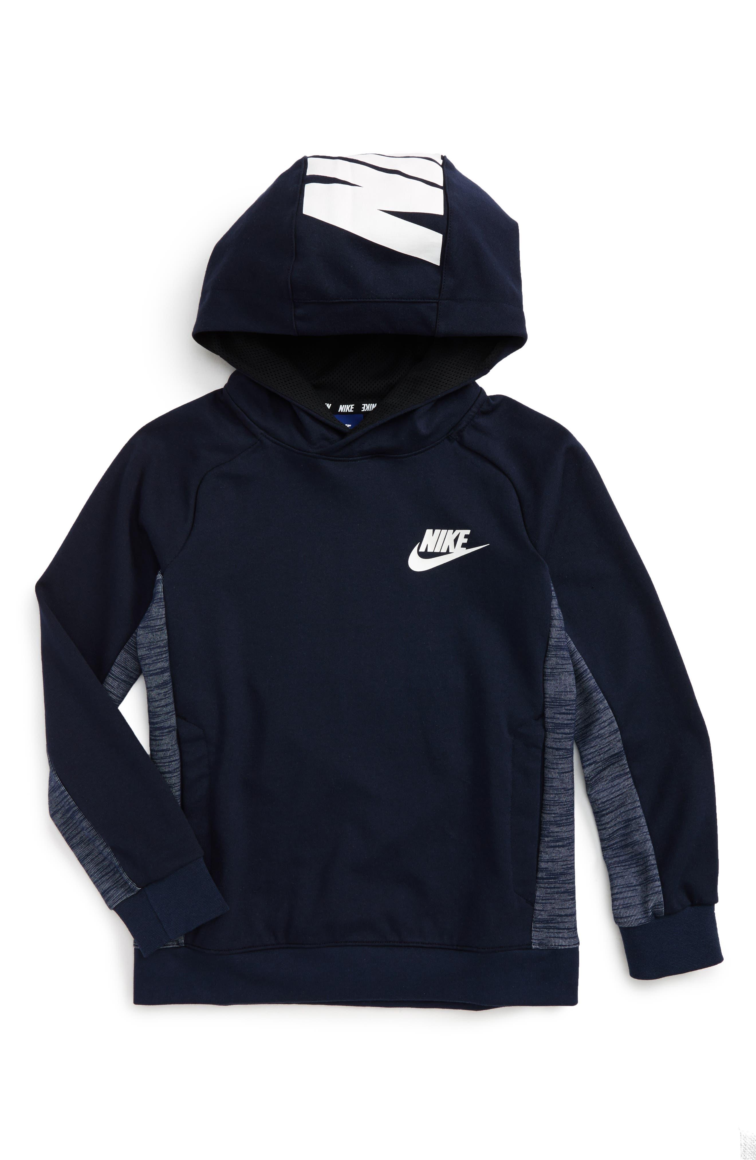 Nike NSW Graphic Hoodie (Little Boys & Big Boys)