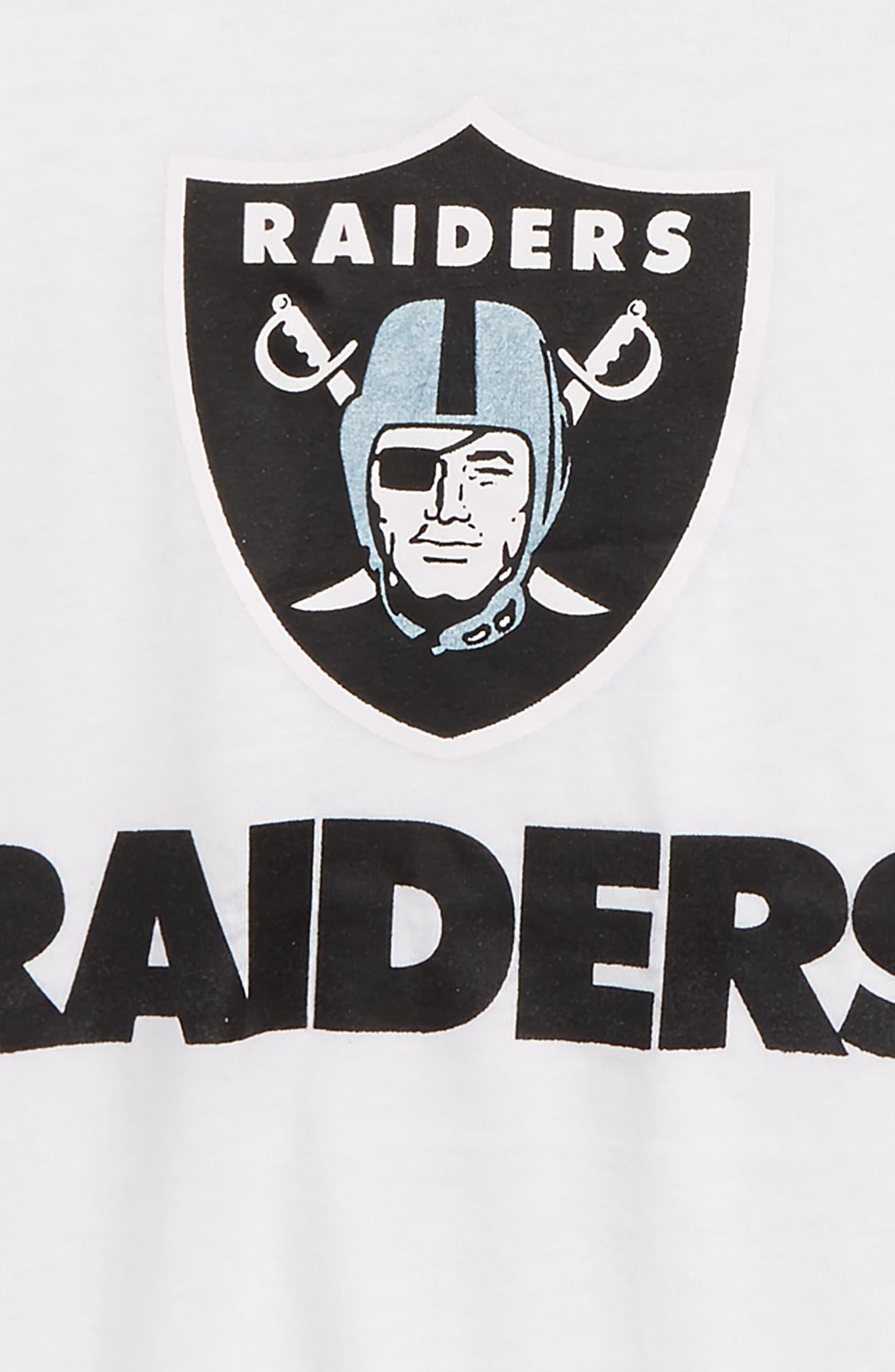 Alternate Image 2  - Outerstuff NFL Oakland Raiders Team Pride Tee (Big Girls)