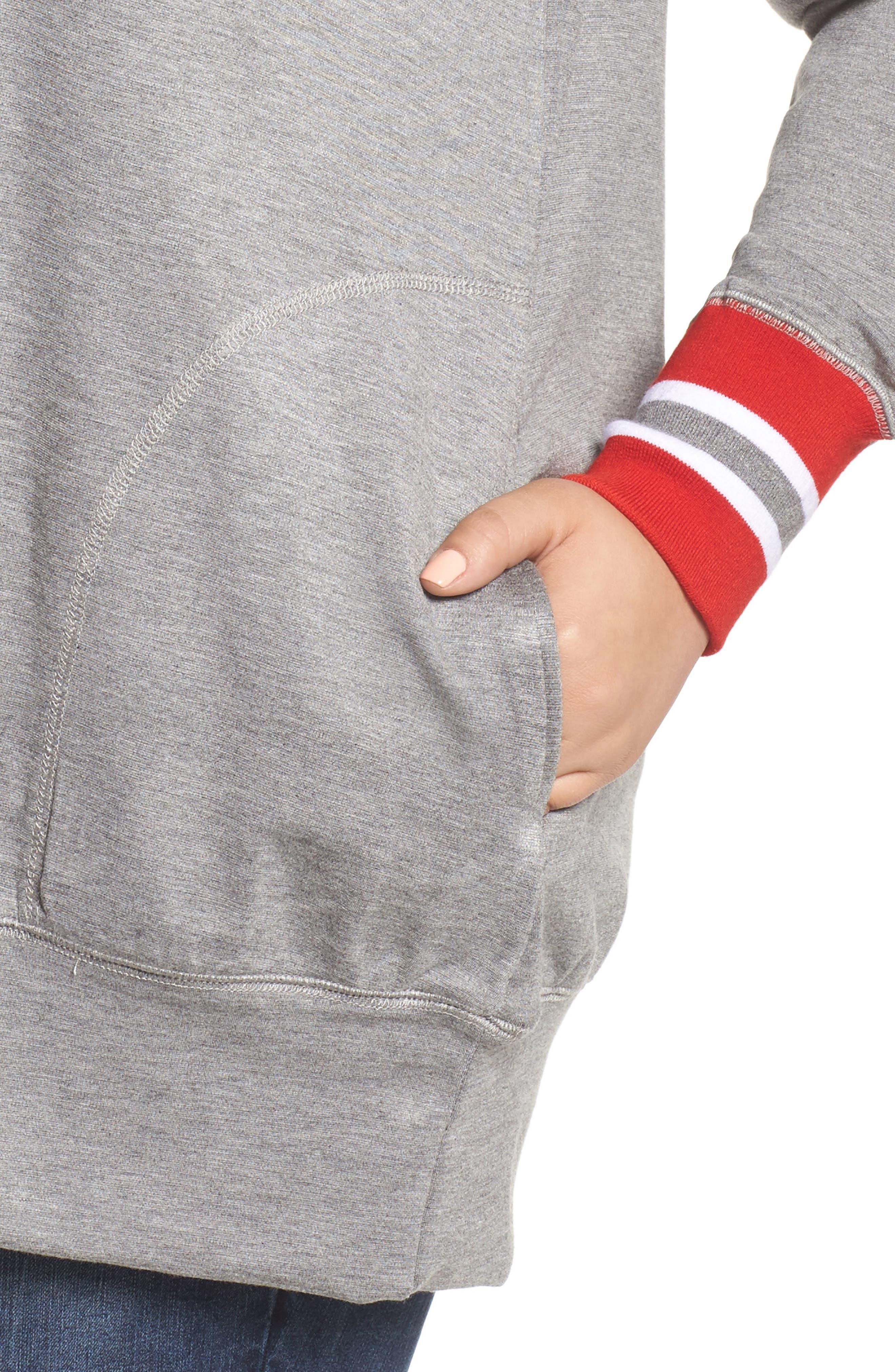 Alternate Image 4  - Melissa McCarthy Seven7 Sweatshirt (Plus Size)