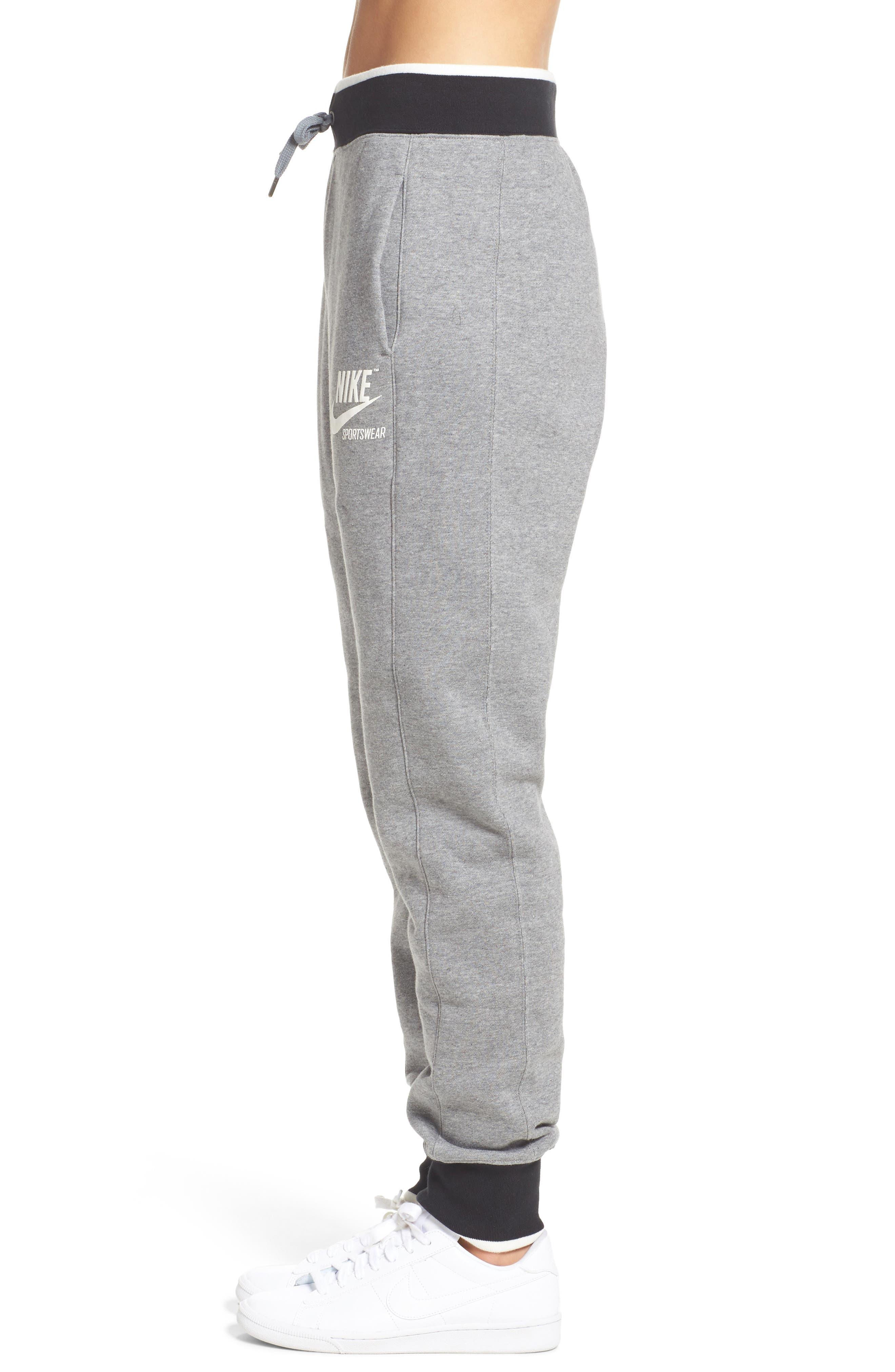 Alternate Image 3  - Nike Fleece Knit Pants