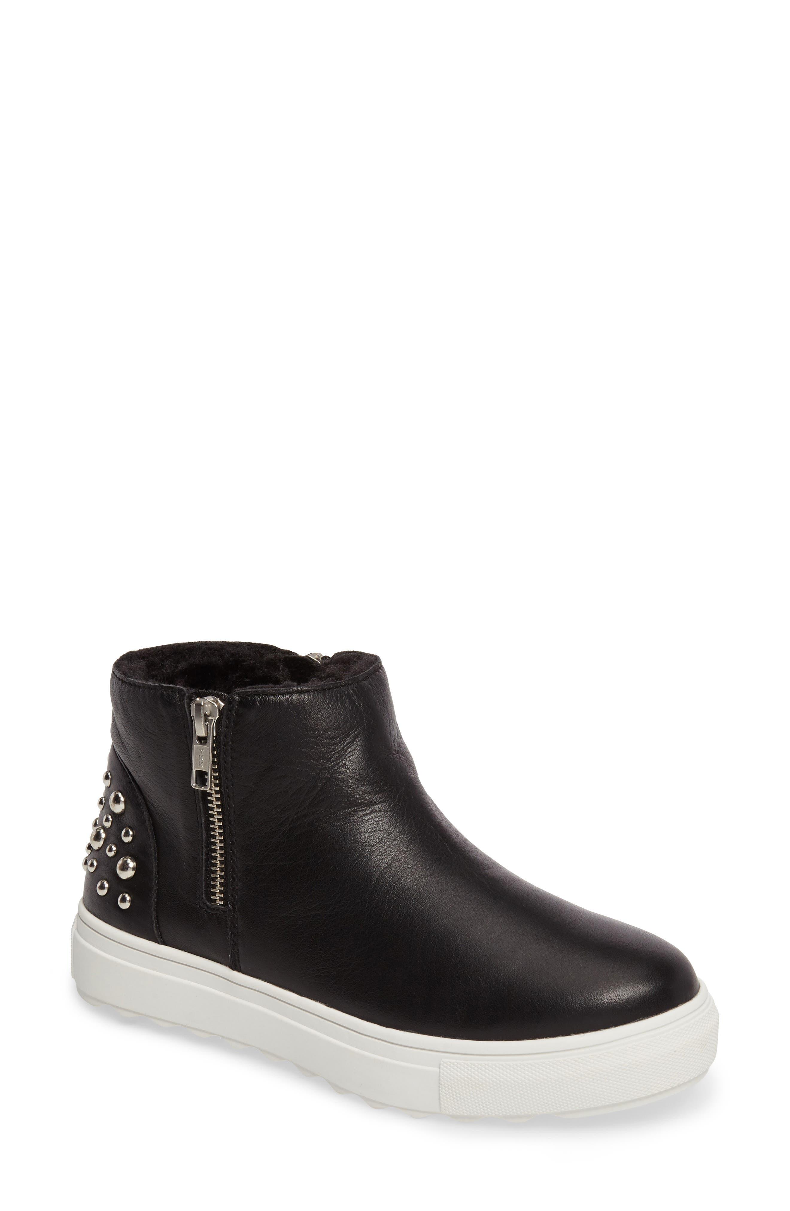 Pele Boot,                             Main thumbnail 1, color,                             Black Leather