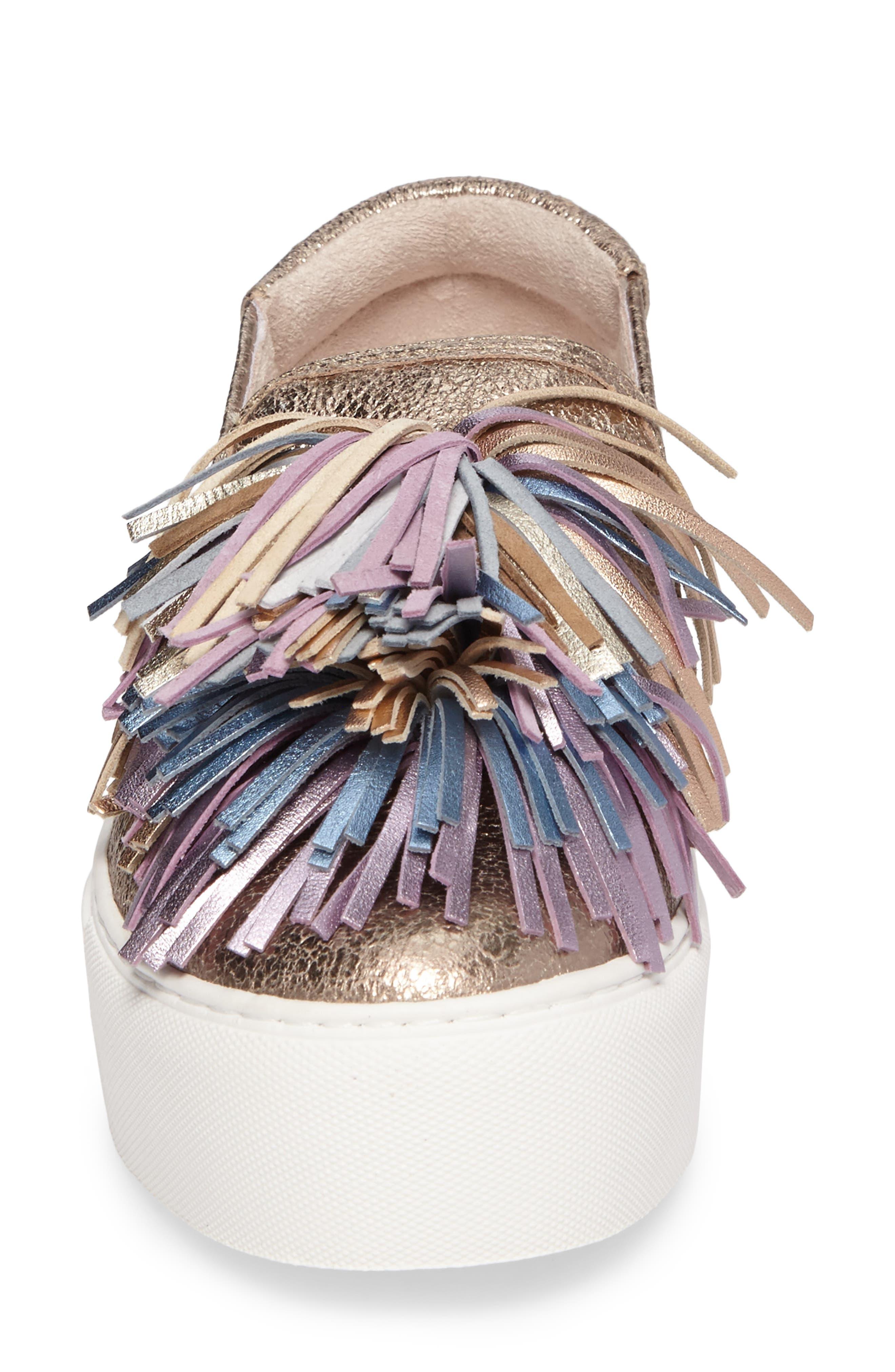 Alternate Image 4  - Kenneth Cole New York Jayson Pom Platform Sneaker (Women)