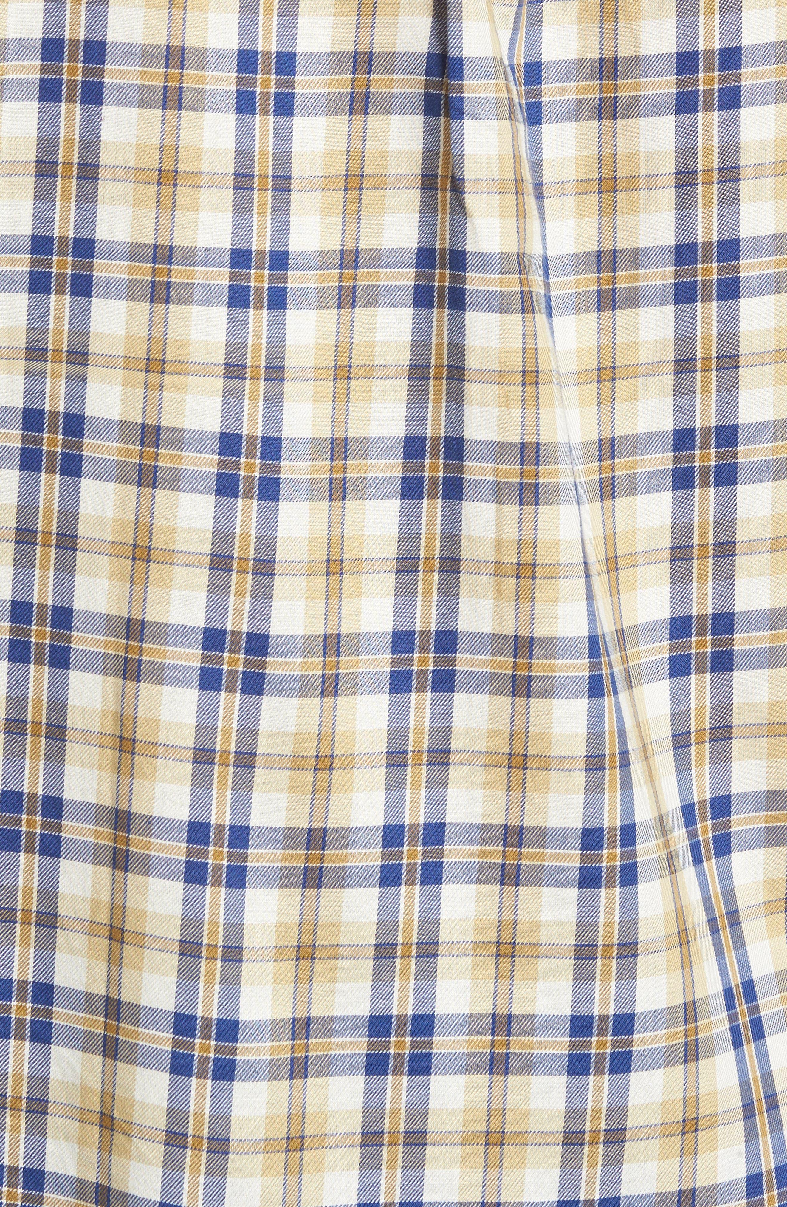 Alternate Image 5  - Vintage 1946 Plaid Sport Shirt