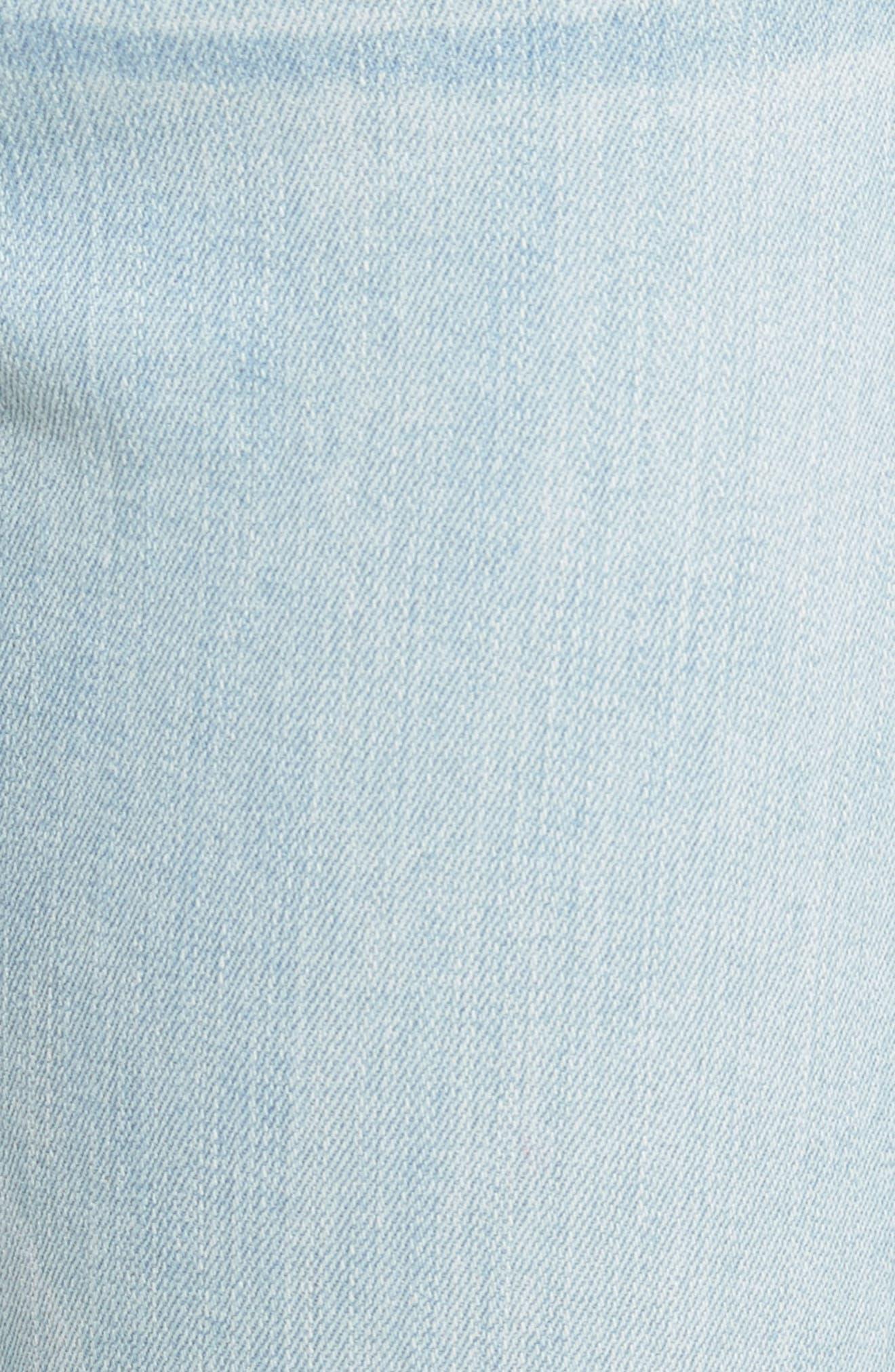 Le High Skinny Crop Jeans,                             Alternate thumbnail 6, color,                             Prospect