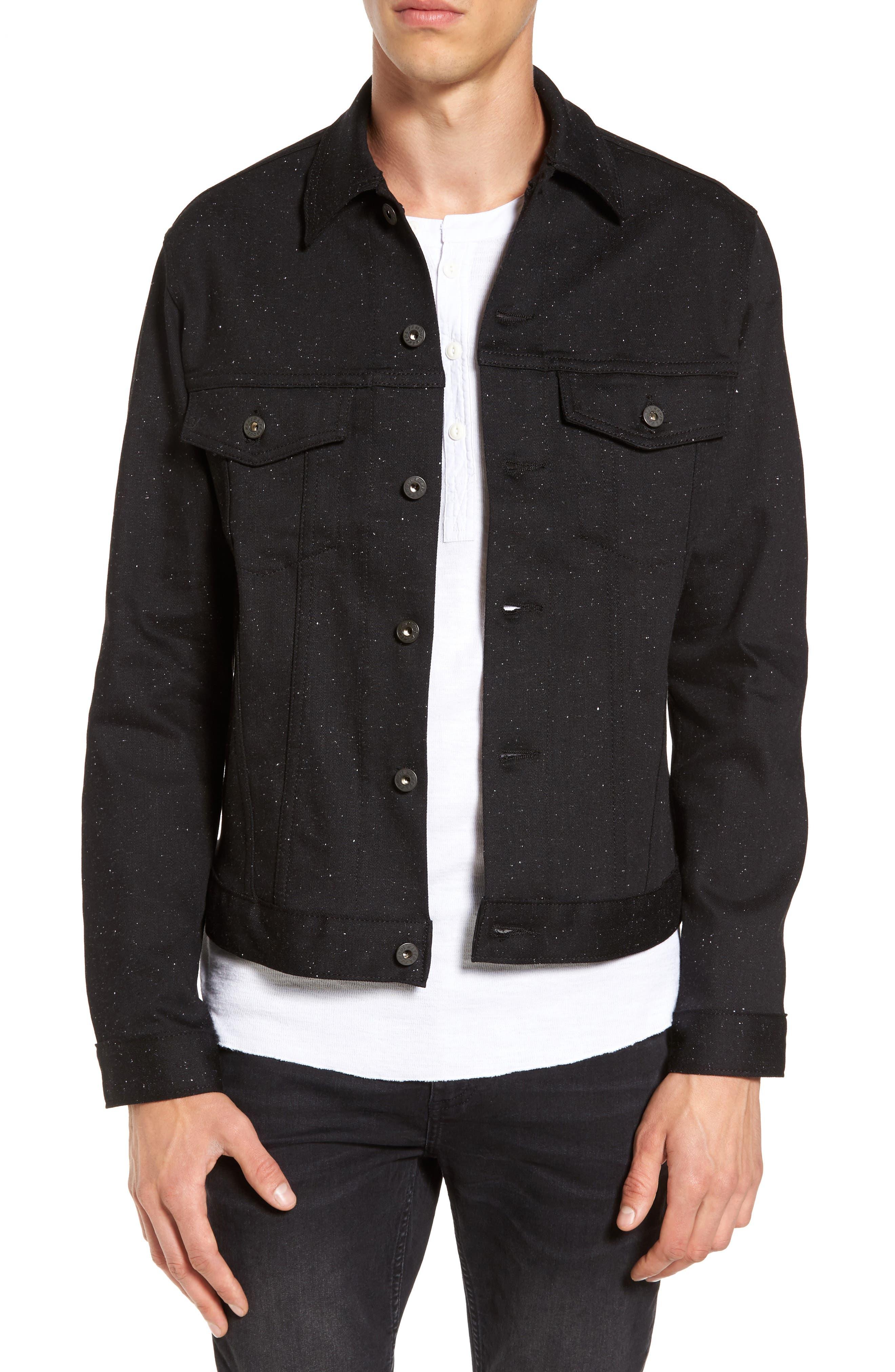 Naked & Famous Denim Flecked Denim Jacket