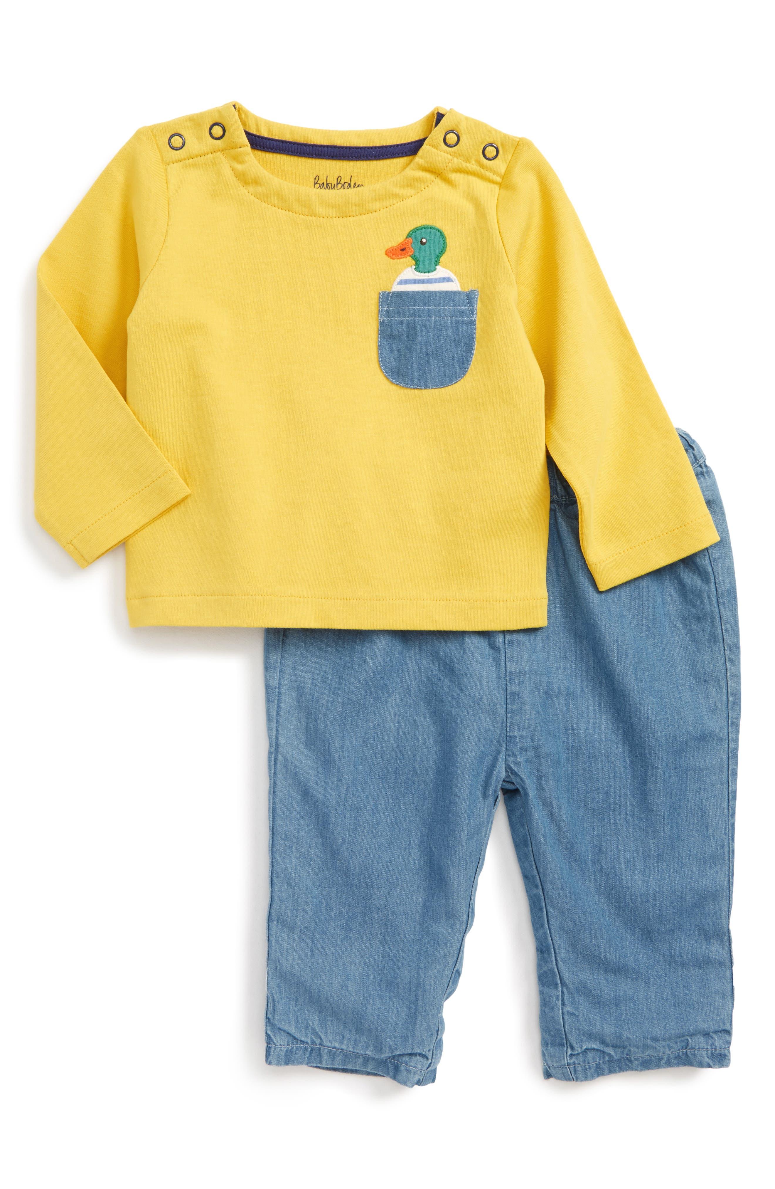 Mini Boden Pocket Pet Play Set (Baby Boys & Toddler Boys)