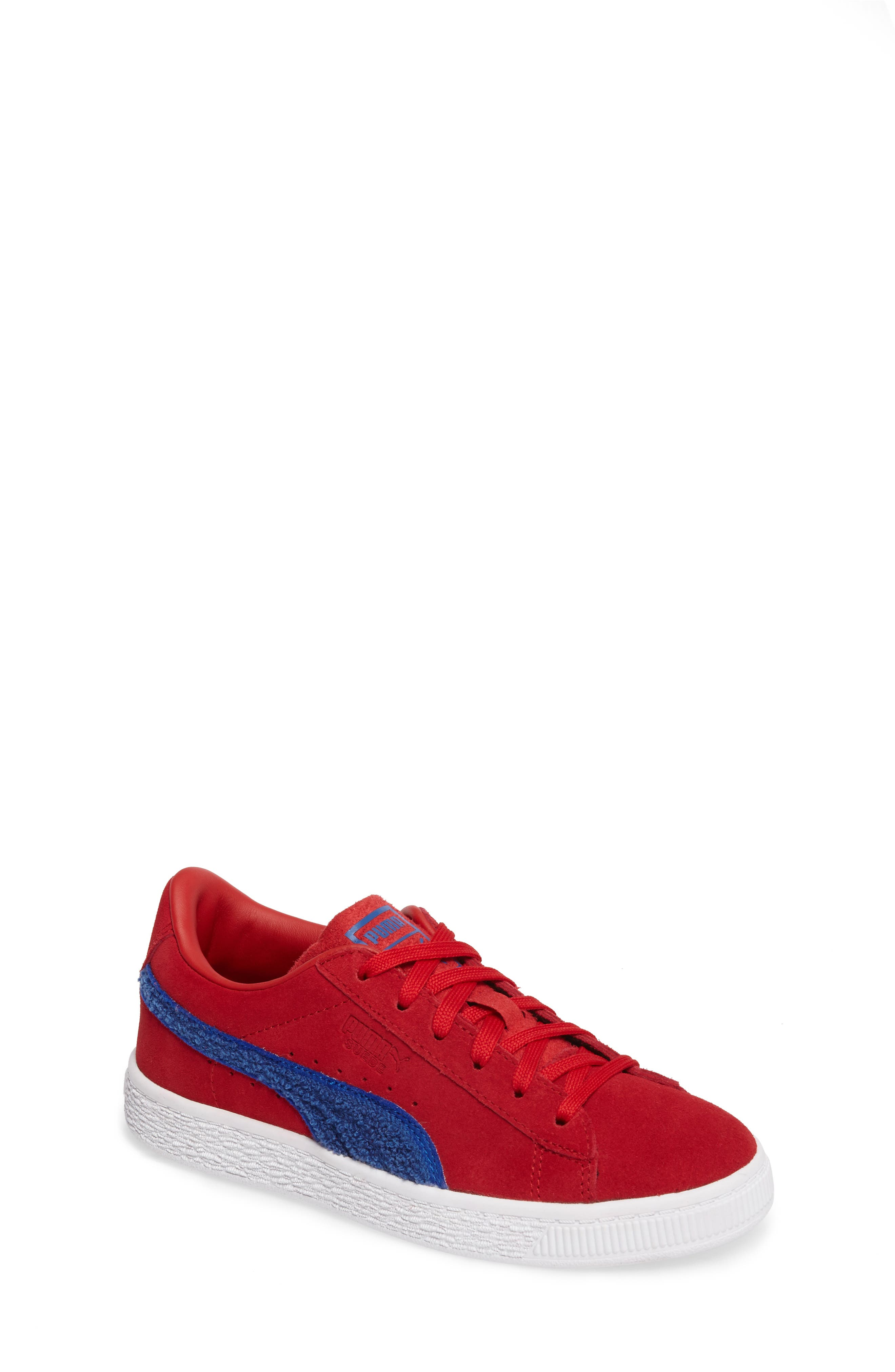 Classic Terry Sneaker,                         Main,                         color, Red