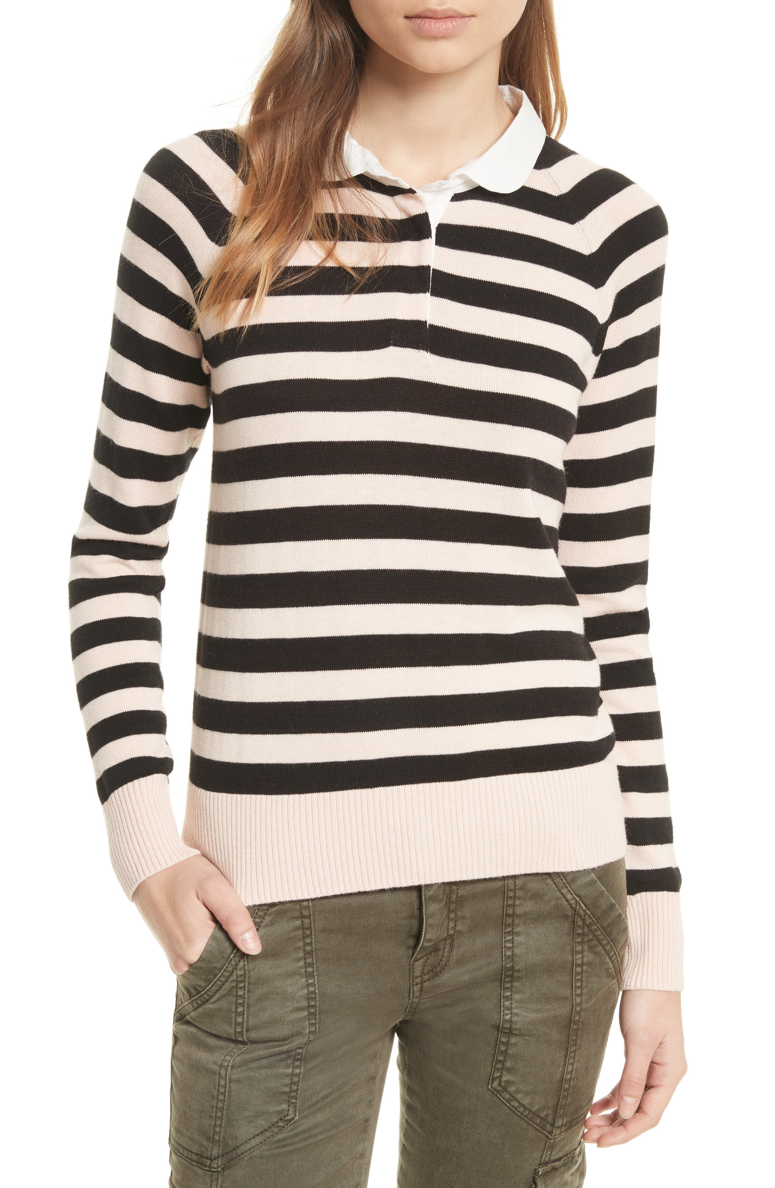 Joie Gabbe Stripe Sweater