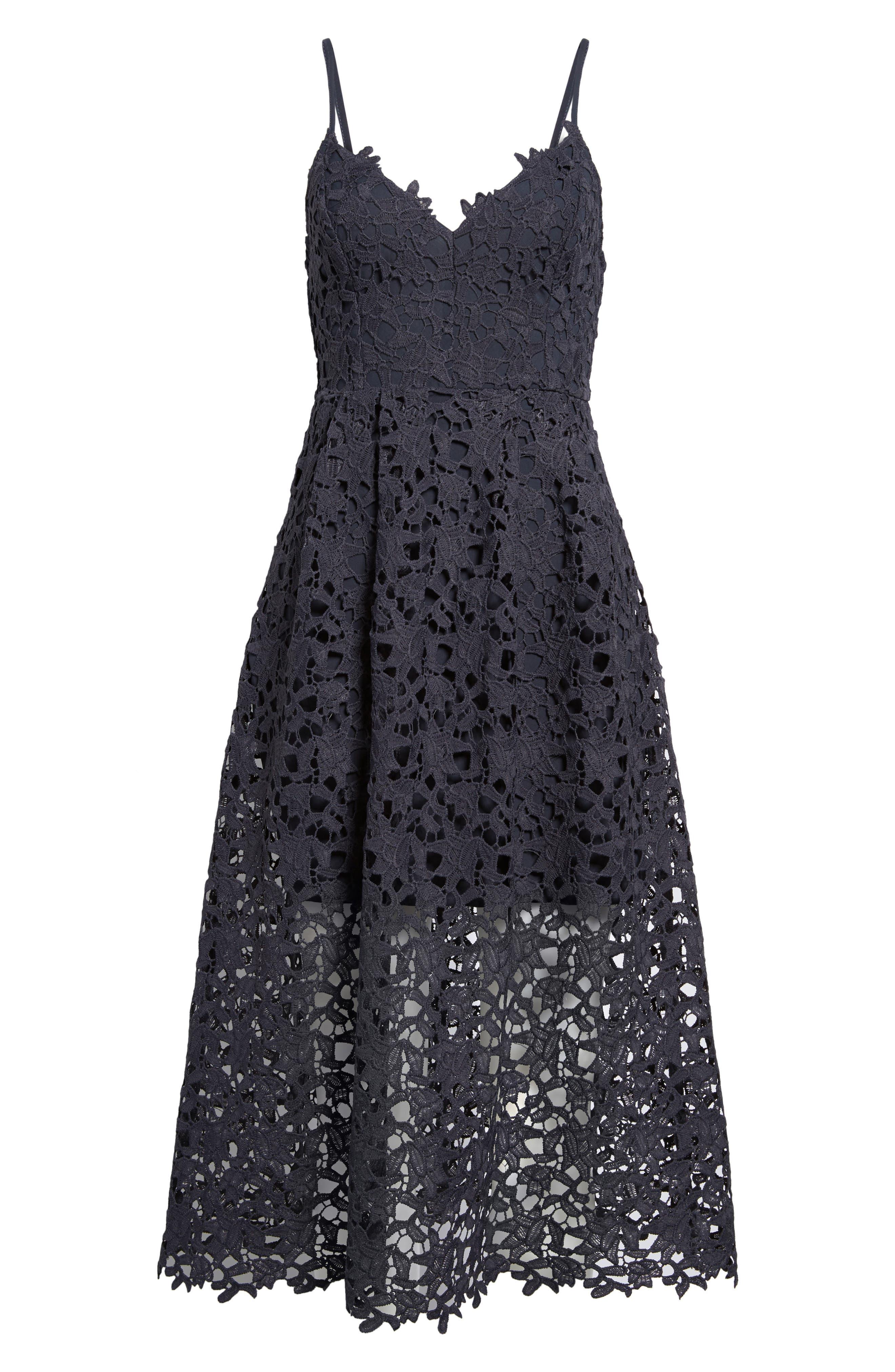 Alternate Image 6  - ASTR the Label Lace Midi Dress