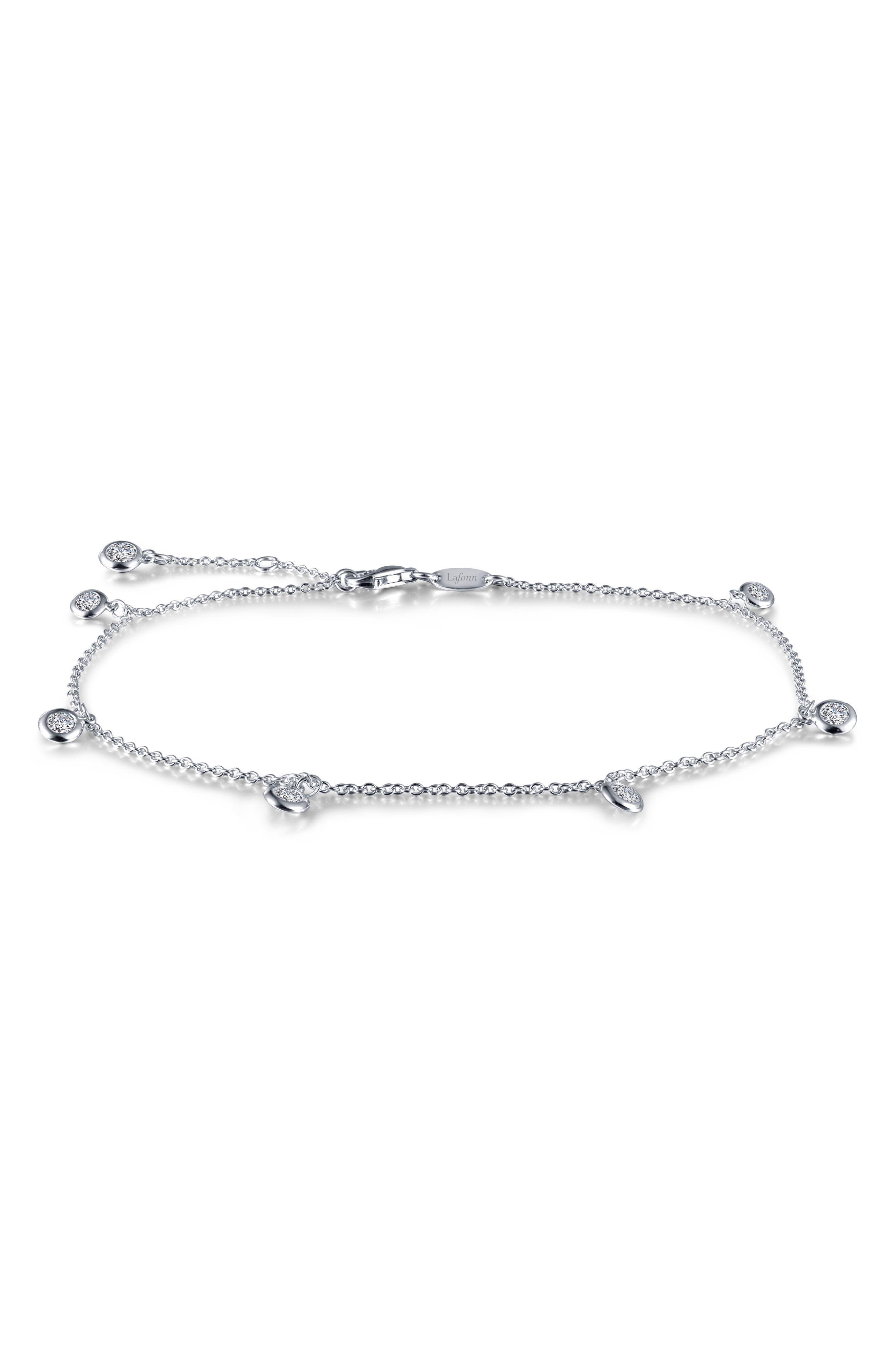Lafonn Dangling Simulated Diamond Bracelet