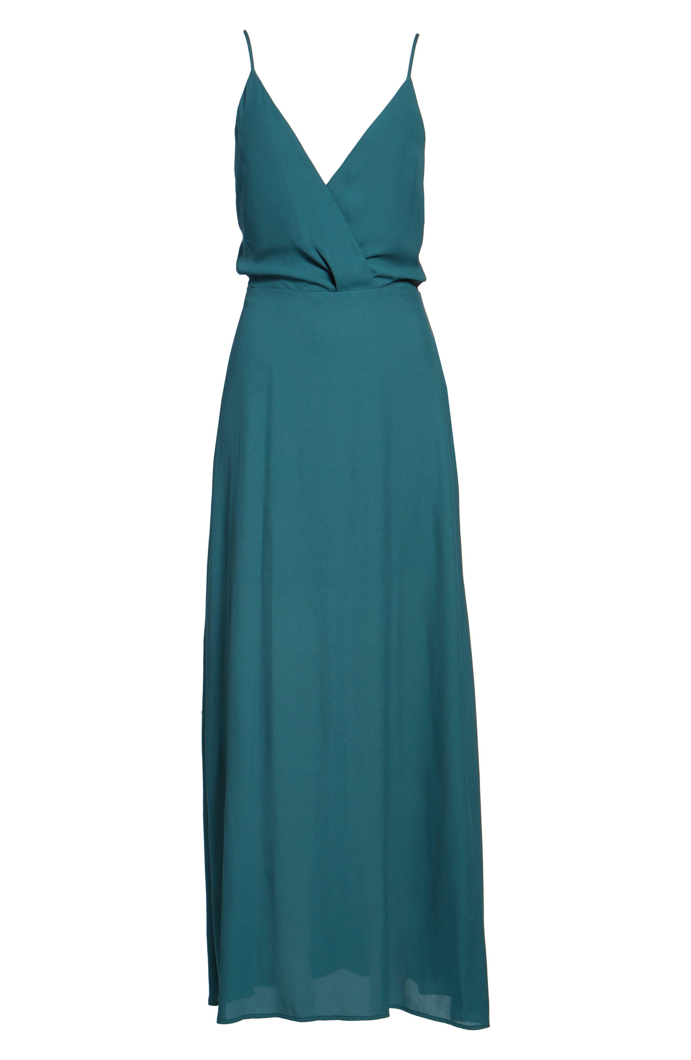 Alternate Image 2  - Surplice Maxi Dress