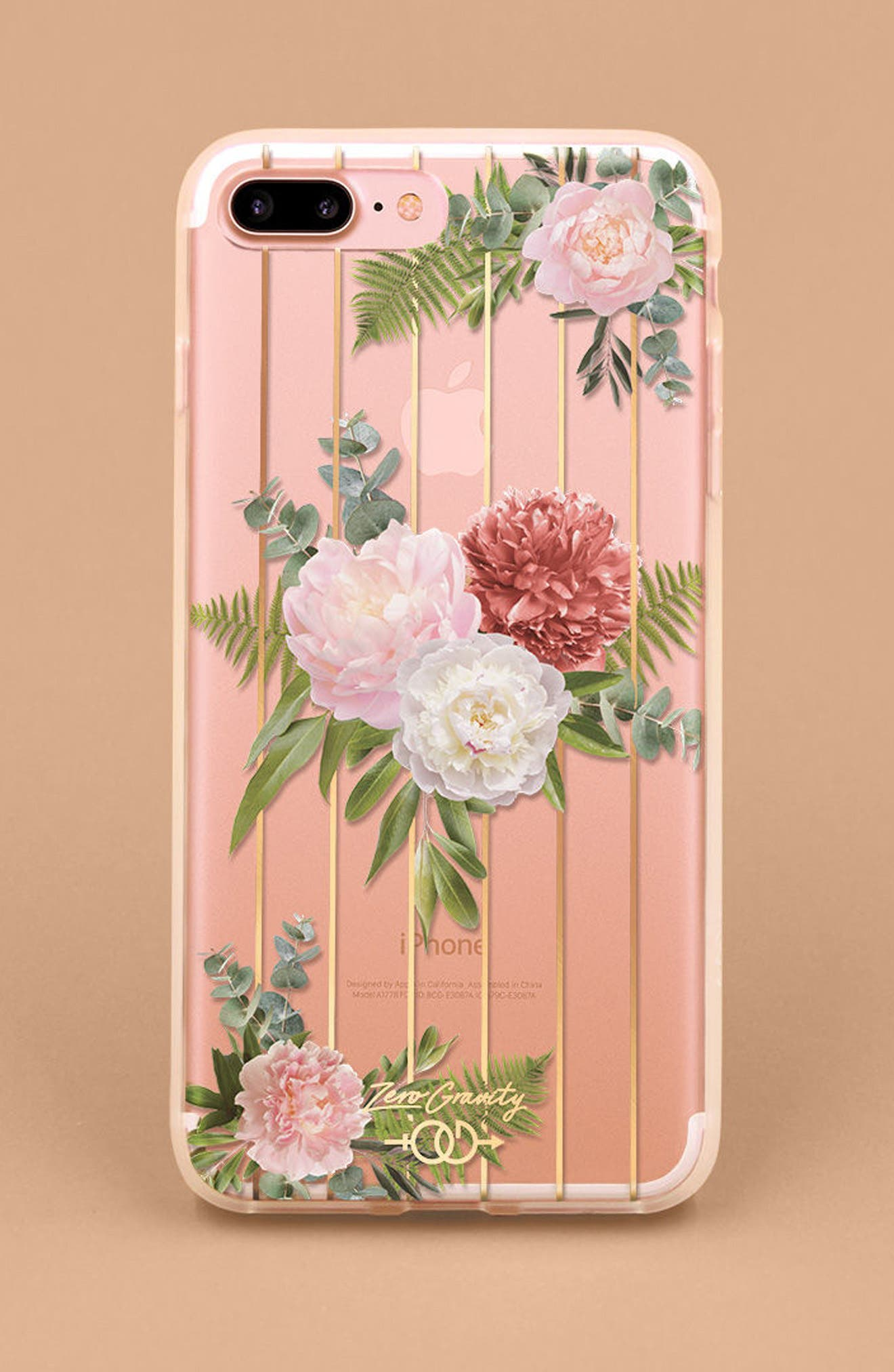 Trio iPhone 7/8 & 7/8 Plus Case,                             Alternate thumbnail 4, color,                             Pink