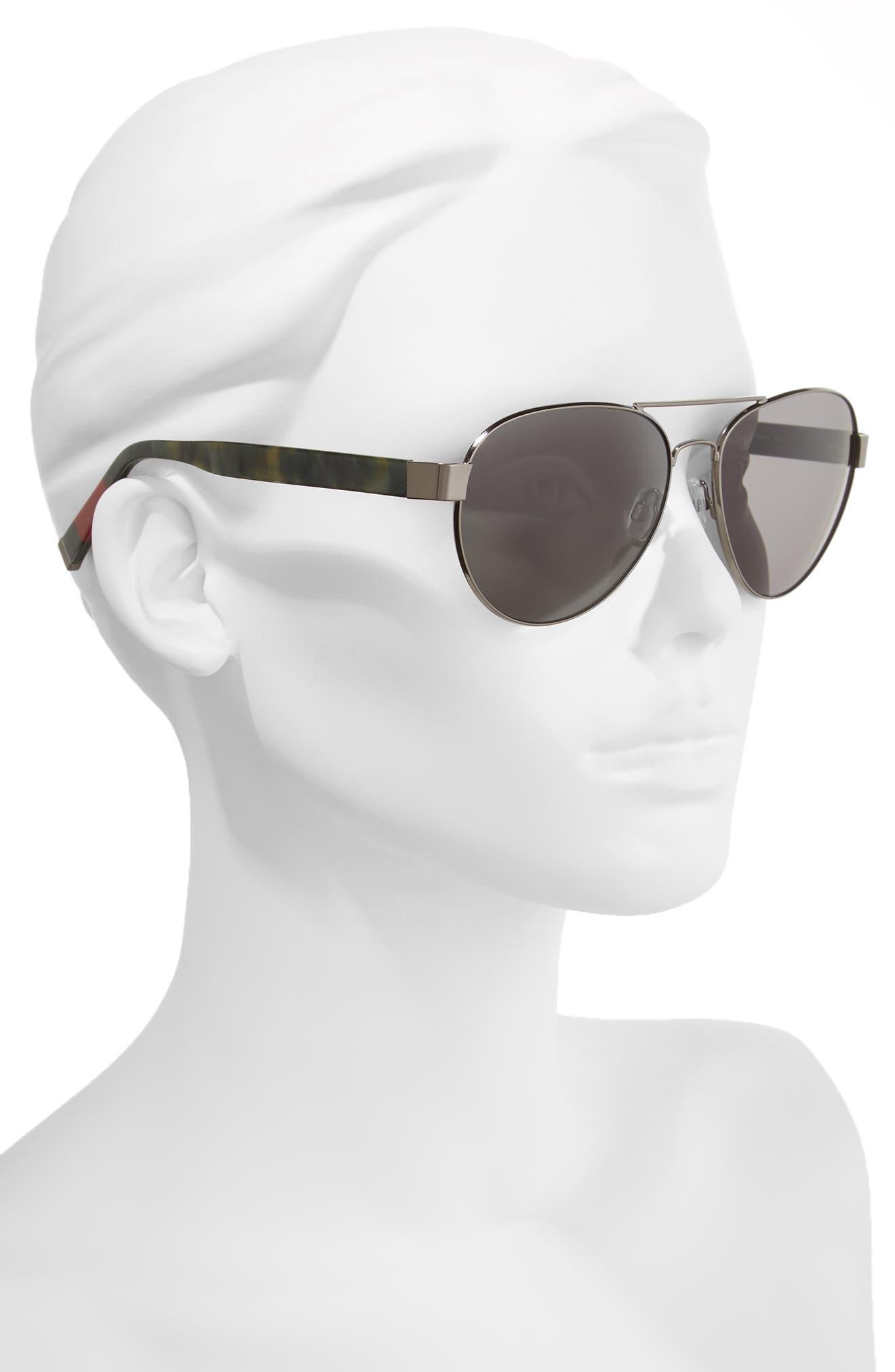 Alternate Image 2  - ED Ellen DeGeneres 62mm Oversize Aviator Sunglasses
