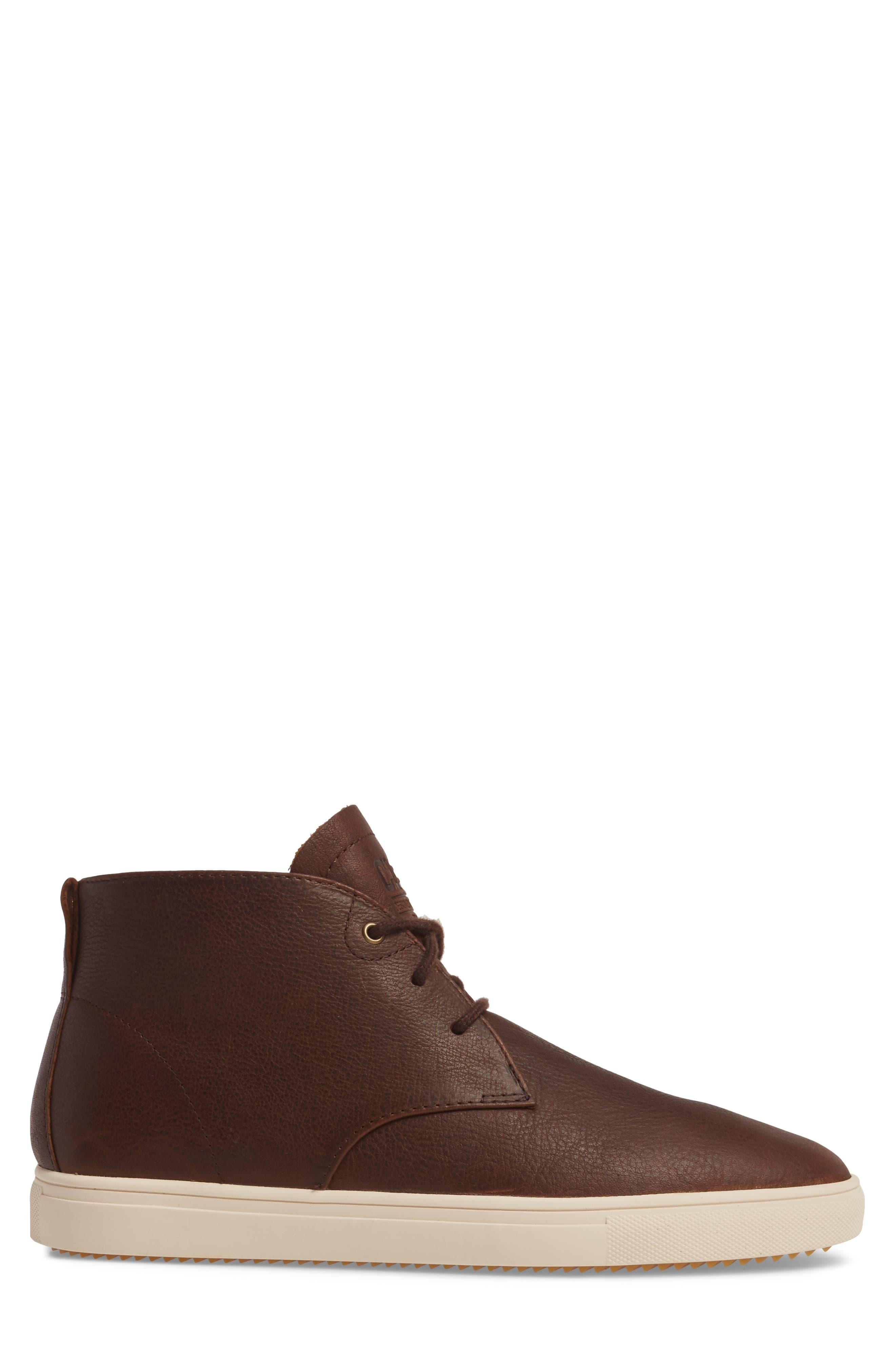 'Strayhorn SP' Chukka Boot,                             Alternate thumbnail 3, color,                             Cocoa Leather
