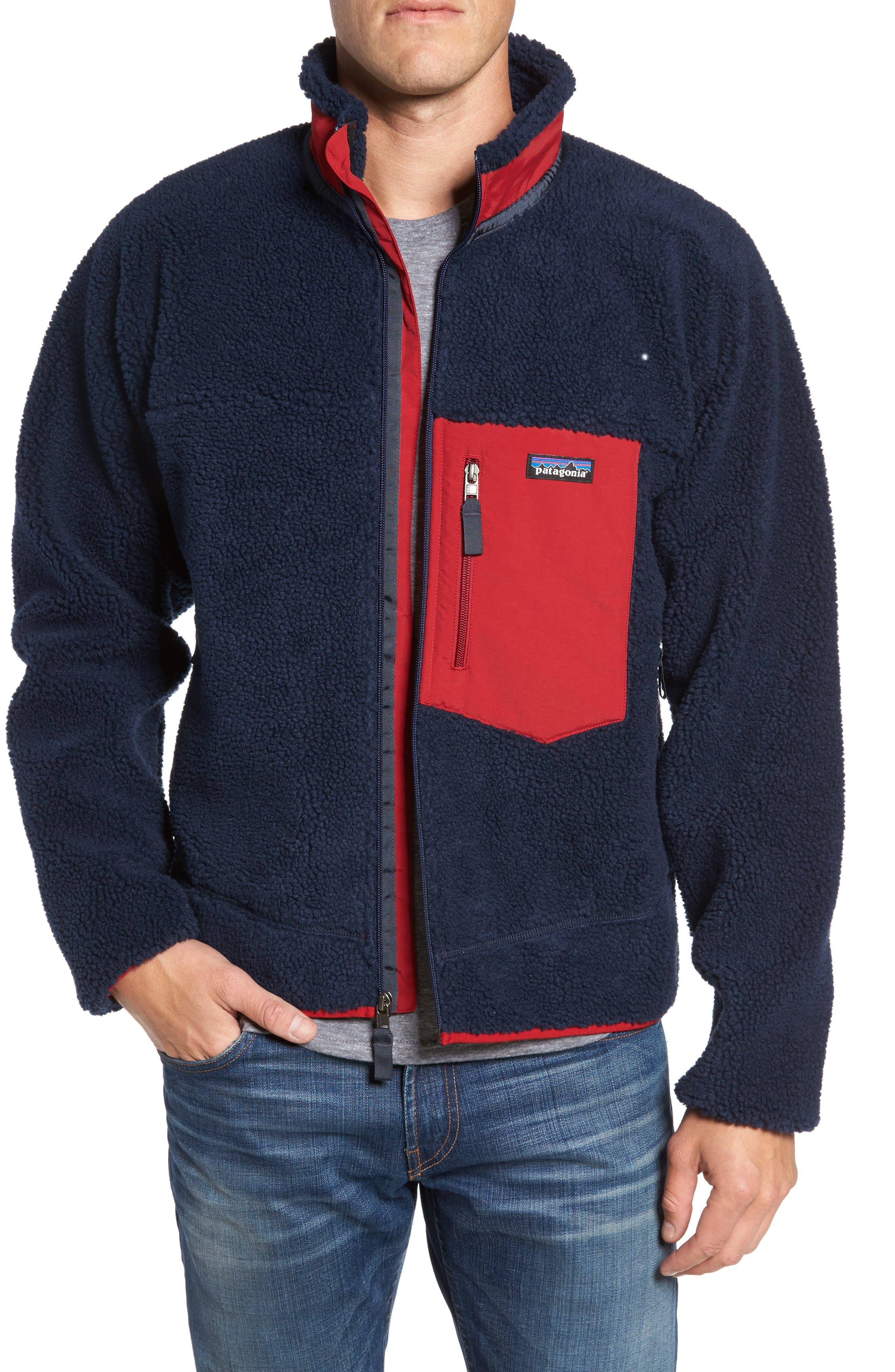 Alternate Image 1 Selected - Patagonia Retro-X Fleece Jacket