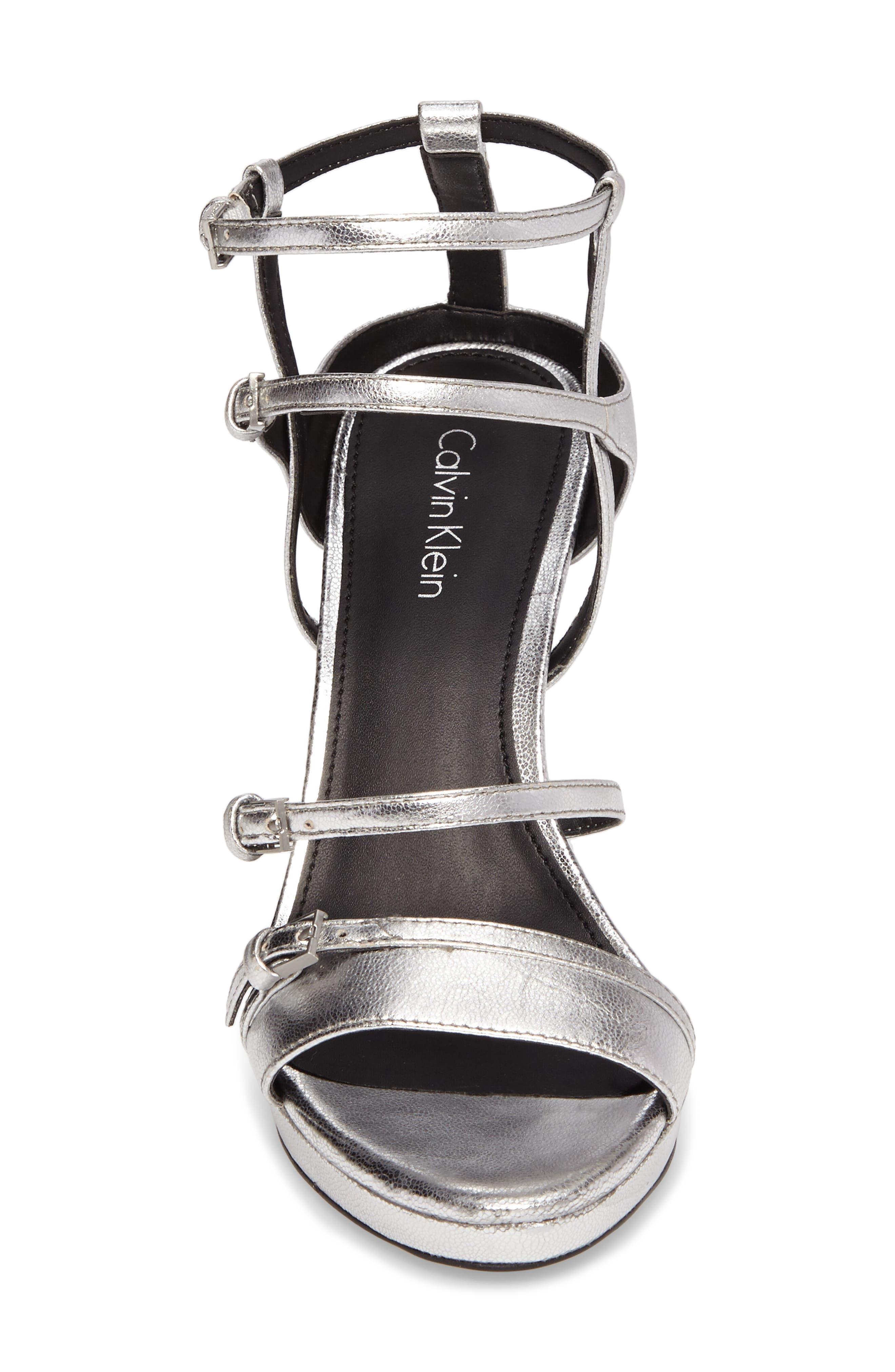 Alternate Image 4  - Calvin Klein Shantell Strappy Platform Sandal (Women)