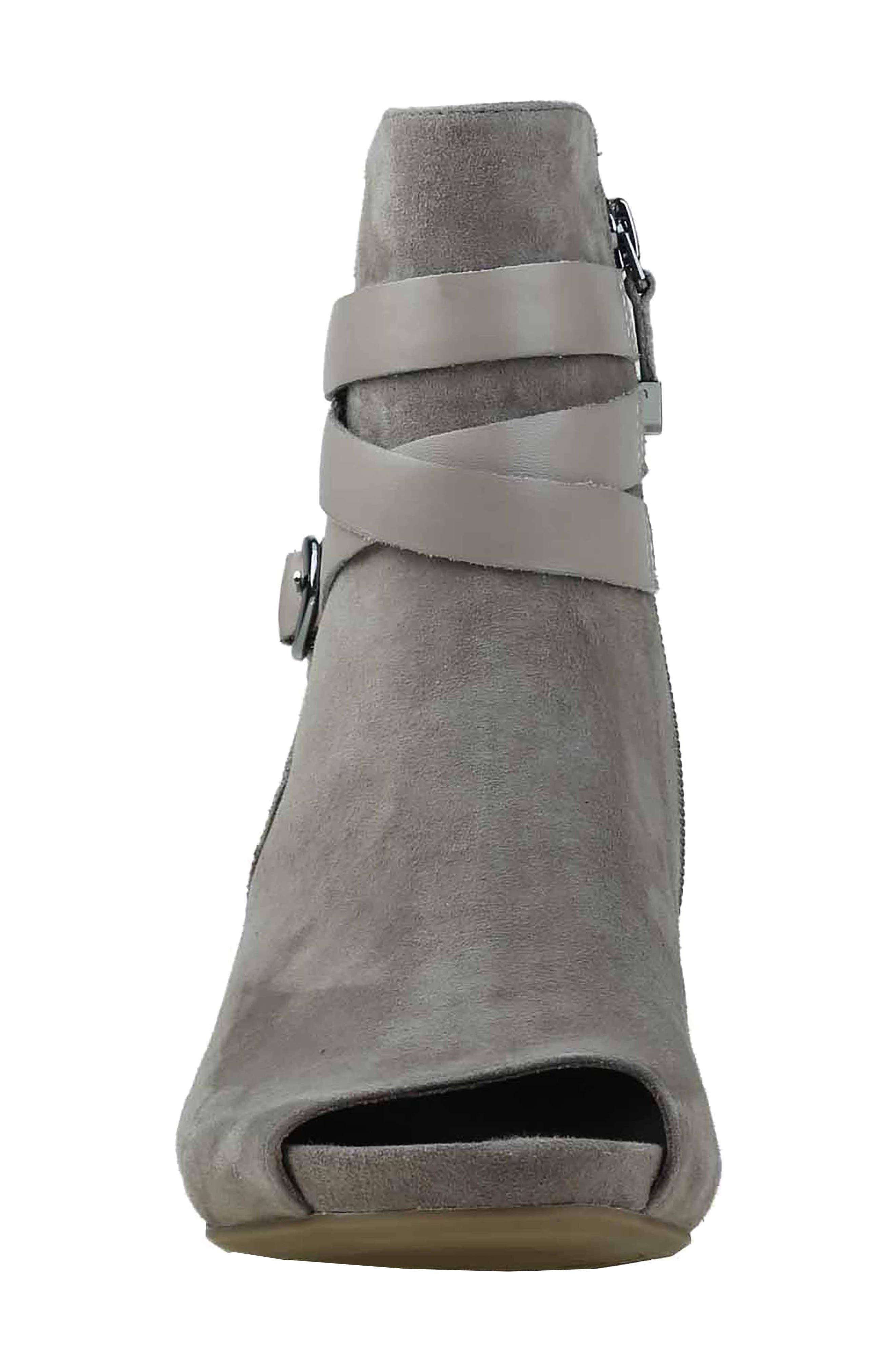 Alternate Image 4  - Earthies® Santo Strappy Peep Toe Bootie (Women)