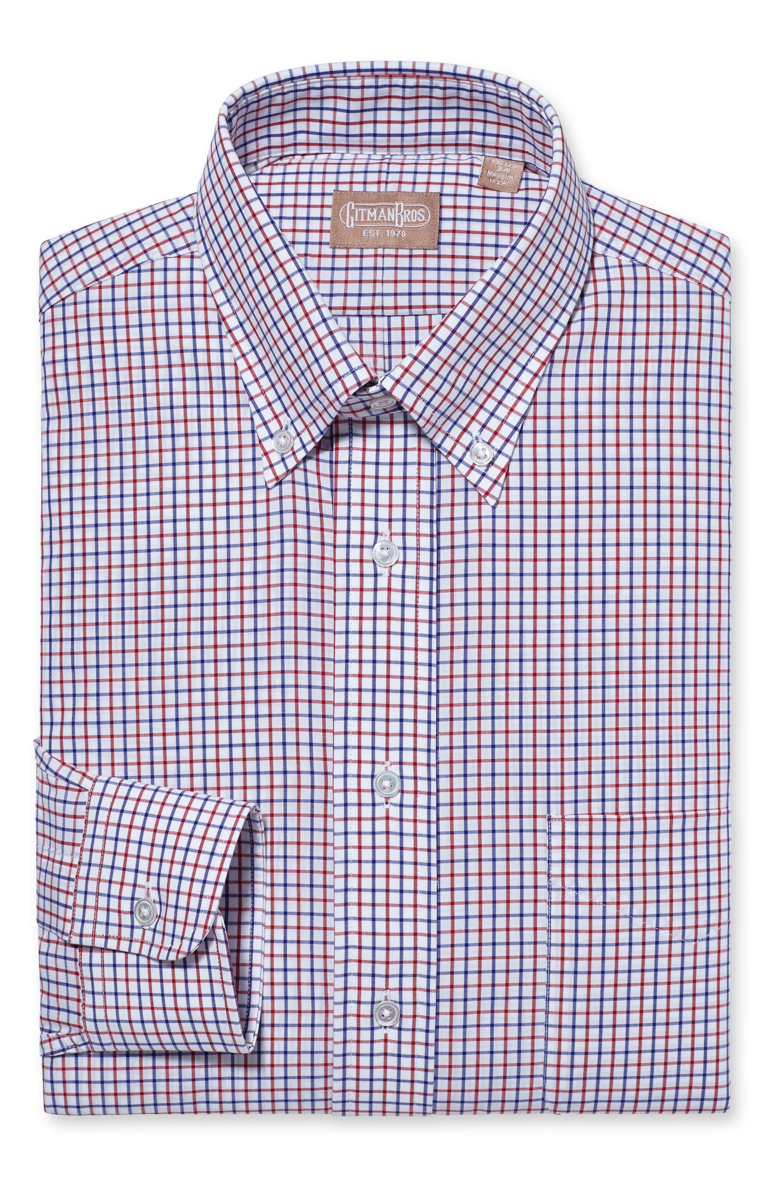 Gitman Regular Fit Check Dress Shirt