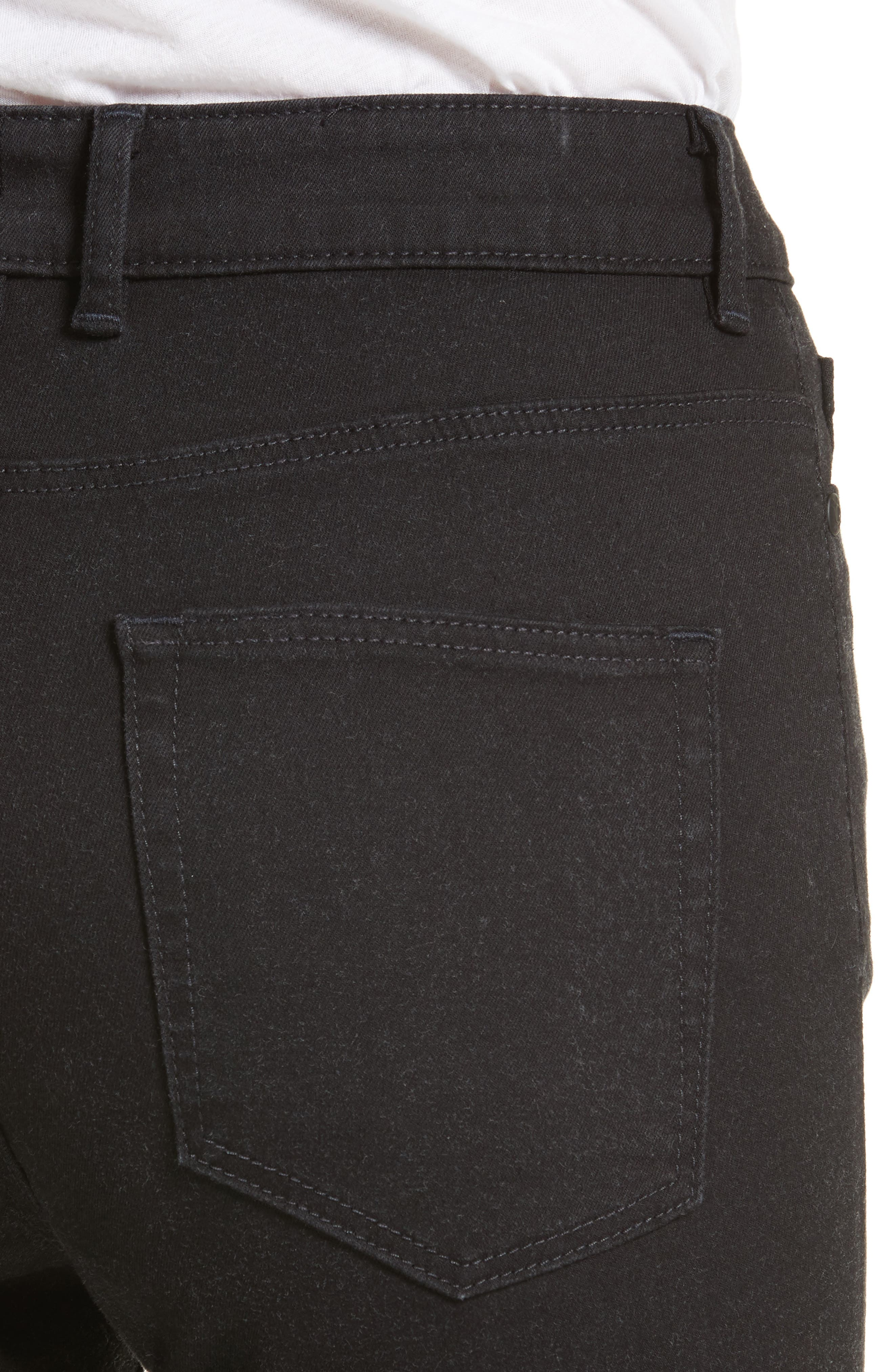 Clemence Skinny Pants,                             Alternate thumbnail 4, color,                             Coal Wash