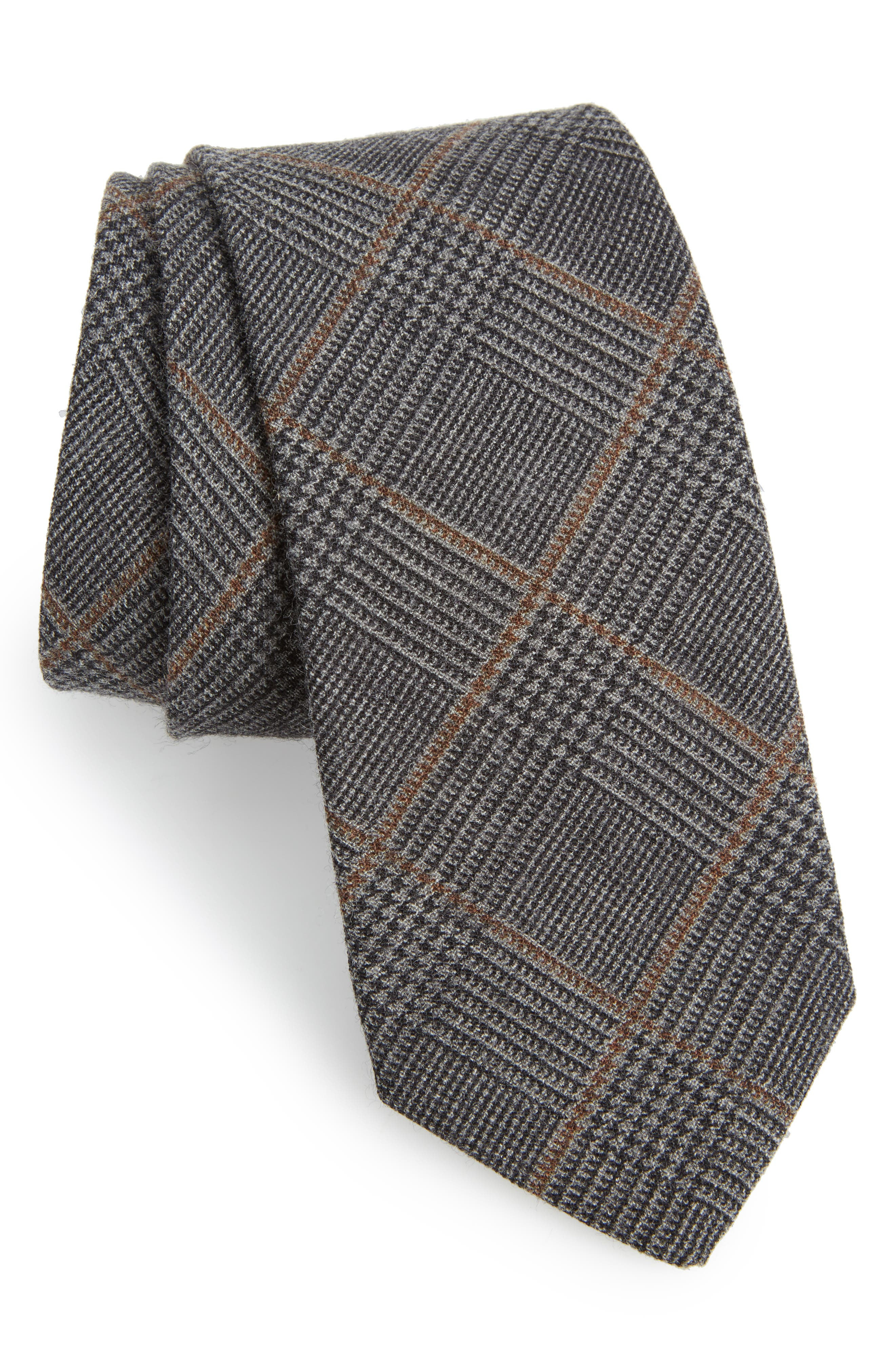 Main Image - Bonobos Dupont Glen Plaid Wool Tie